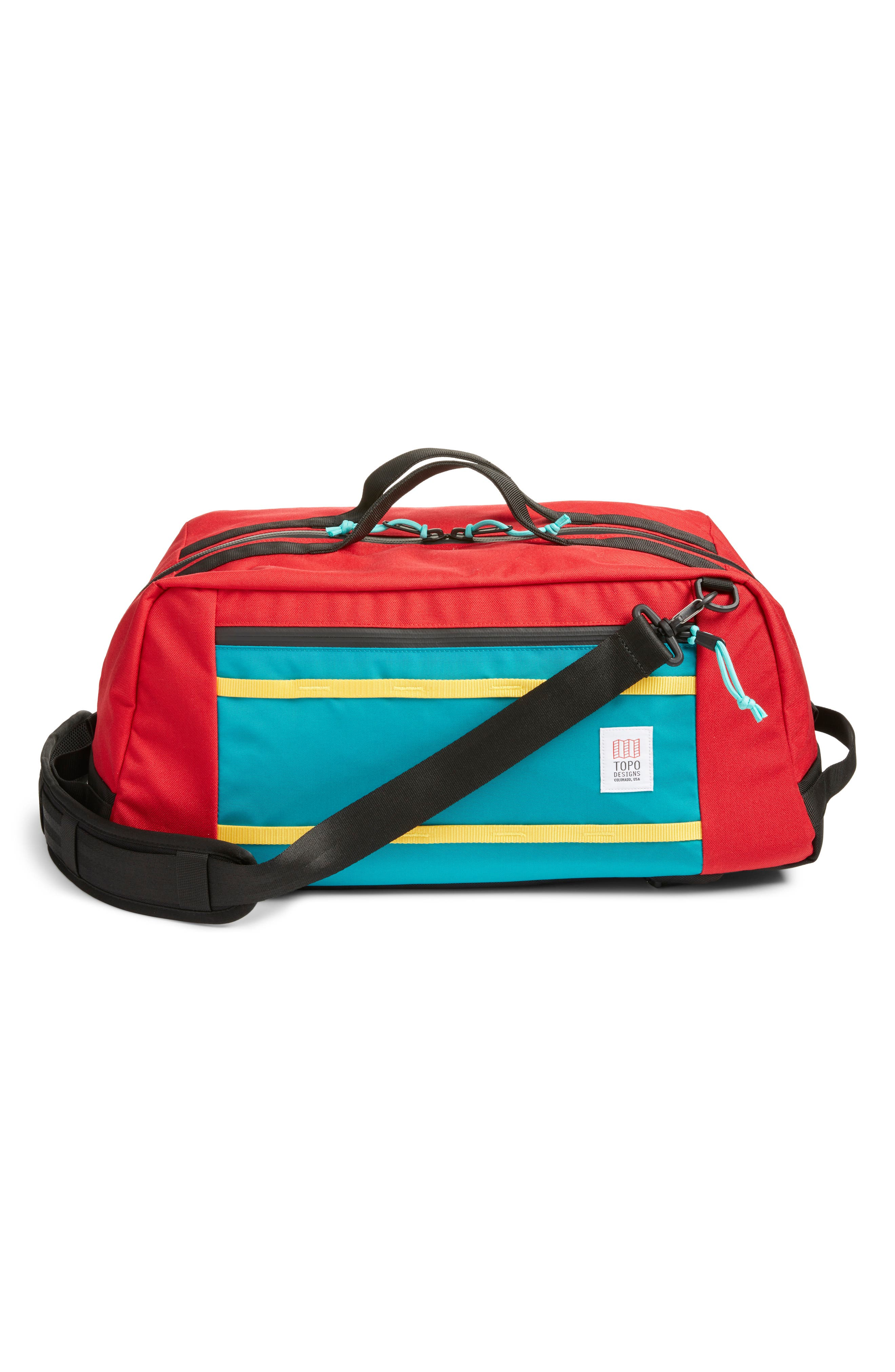 Mountain 40L Convertible Duffel Bag, Main, color, 600