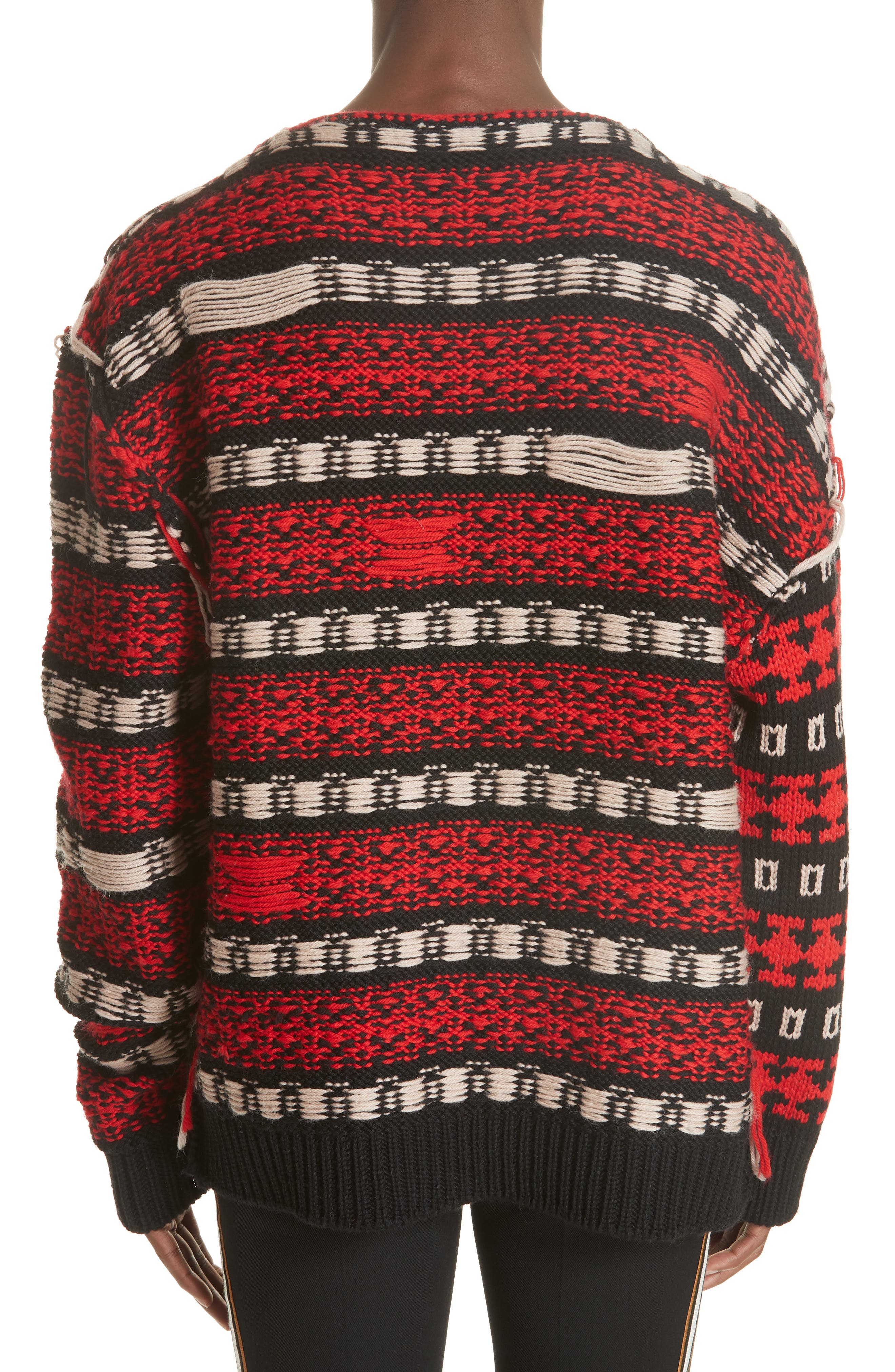 CALVIN KLEIN 205W39NYC,                             Wool Sweater,                             Alternate thumbnail 2, color,                             011
