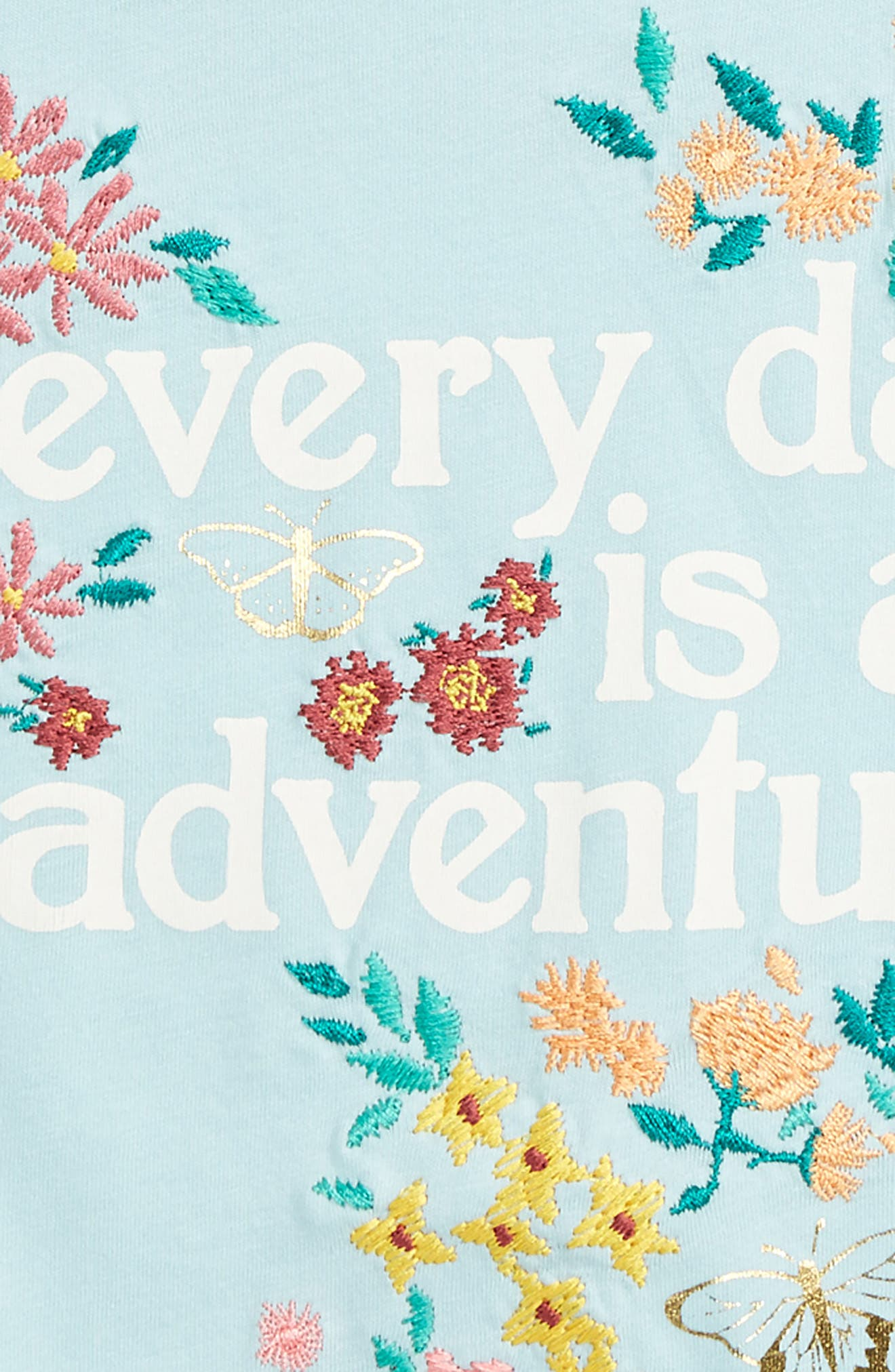 Adventure Embroidered Tee,                             Alternate thumbnail 4, color,                             027