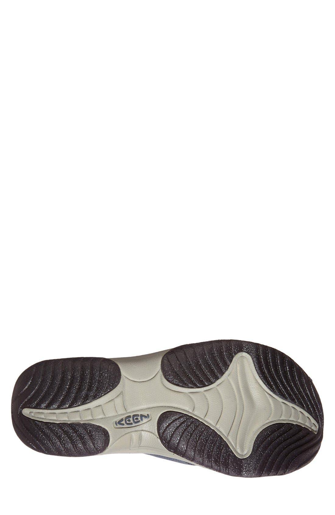 'Waimea H2' Water Thong Sandal,                             Alternate thumbnail 4, color,                             MIDNIGHT NAVY/ NEUTRAL