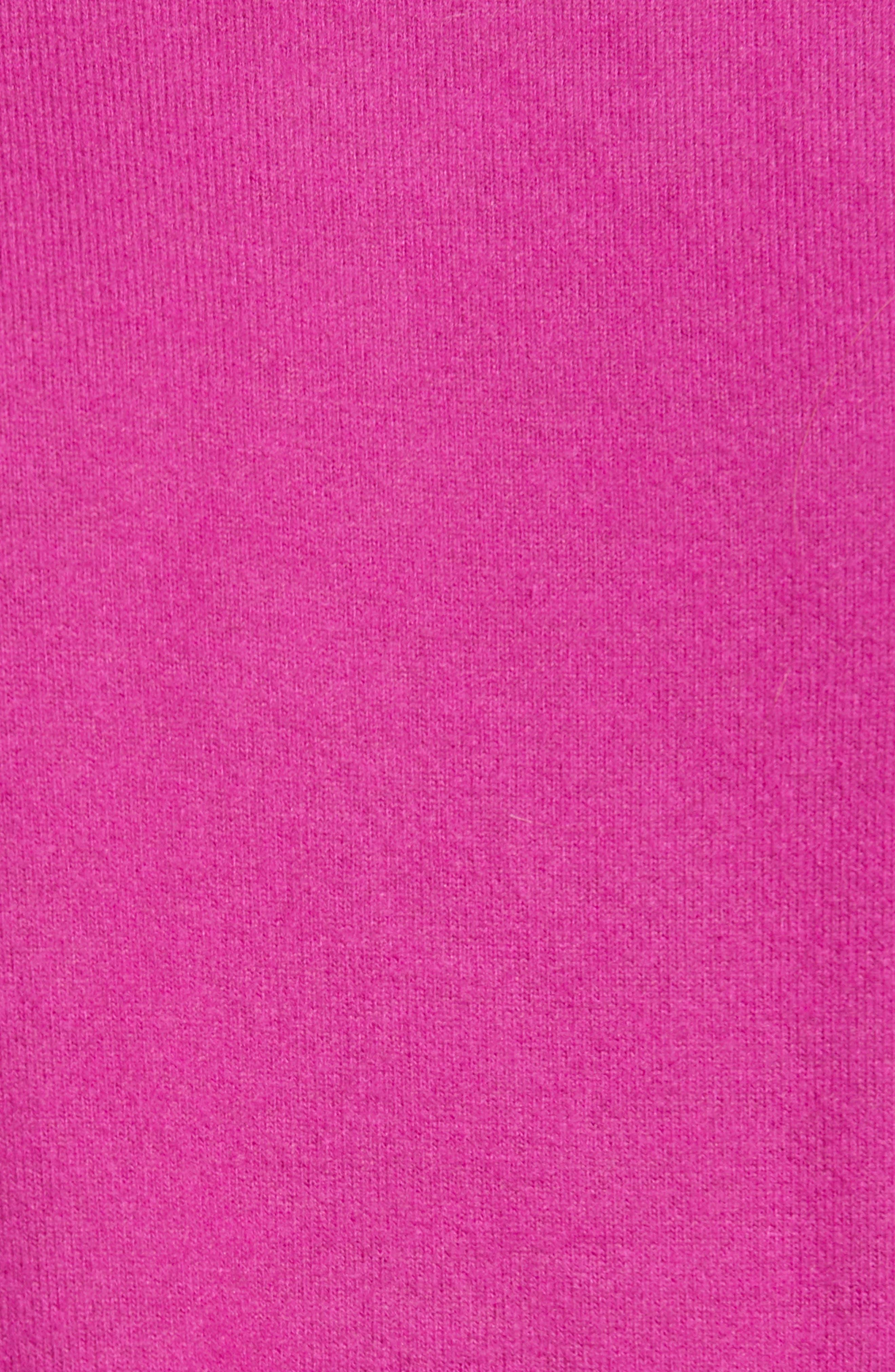 Cozy Twist Front Pullover,                             Alternate thumbnail 5, color,                             PURPLE VINTER SOLID