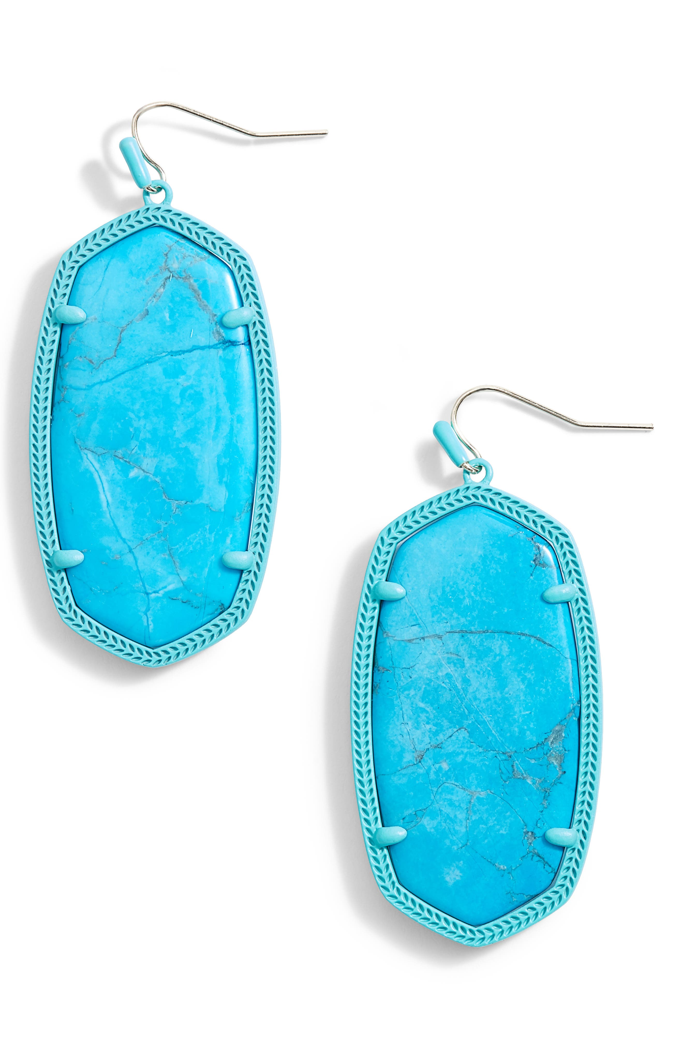 Danielle - Large Oval Statement Earrings,                             Main thumbnail 16, color,