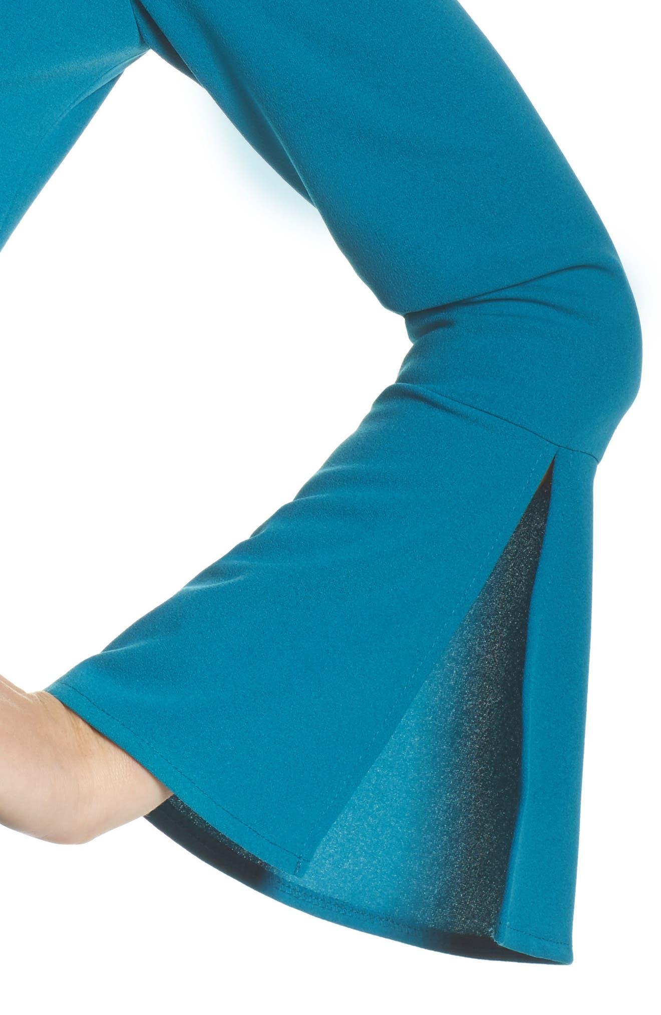 Bell Sleeve Sheath Dress,                             Alternate thumbnail 4, color,                             436
