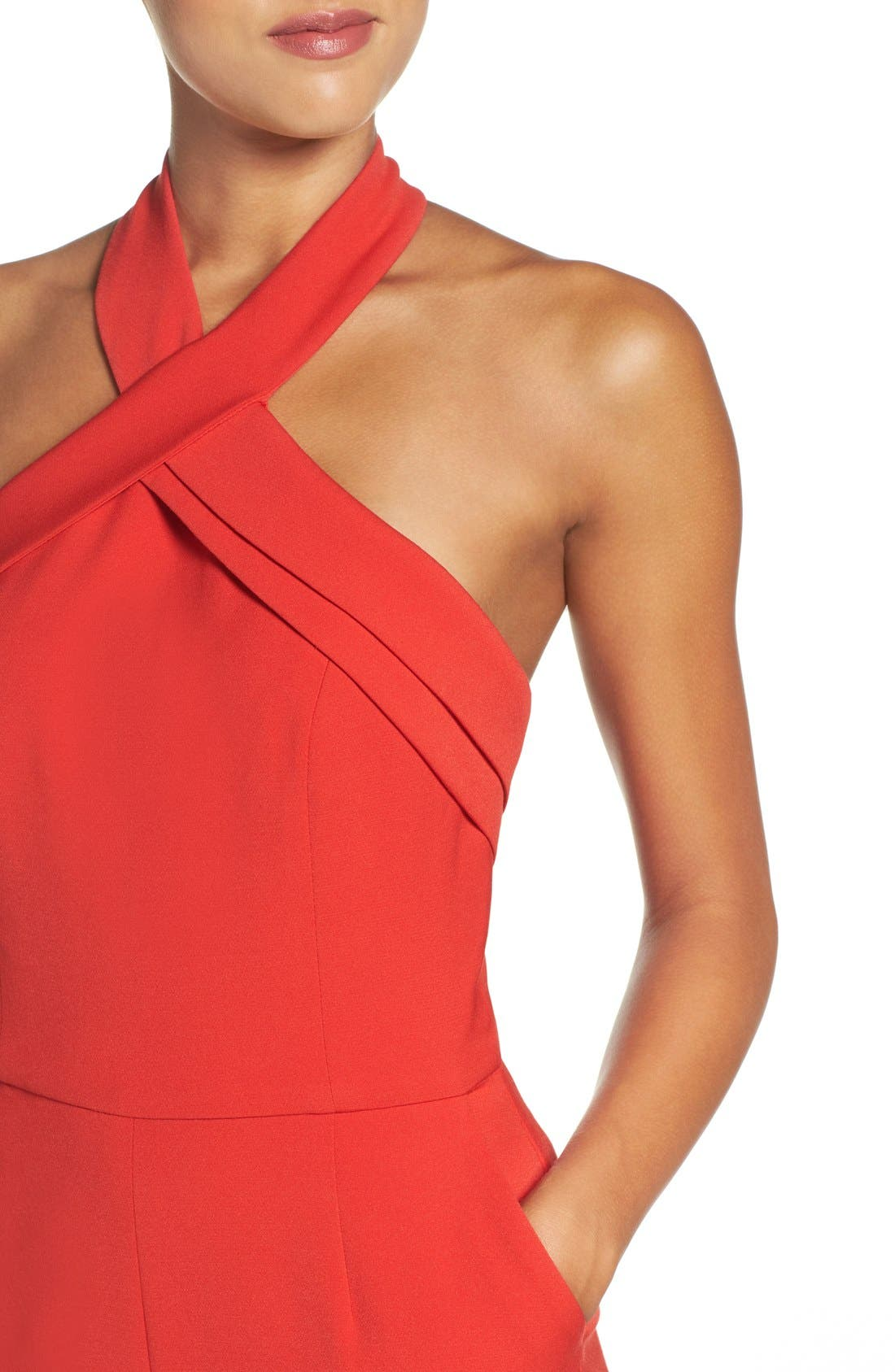 Halter Jumpsuit,                             Alternate thumbnail 12, color,