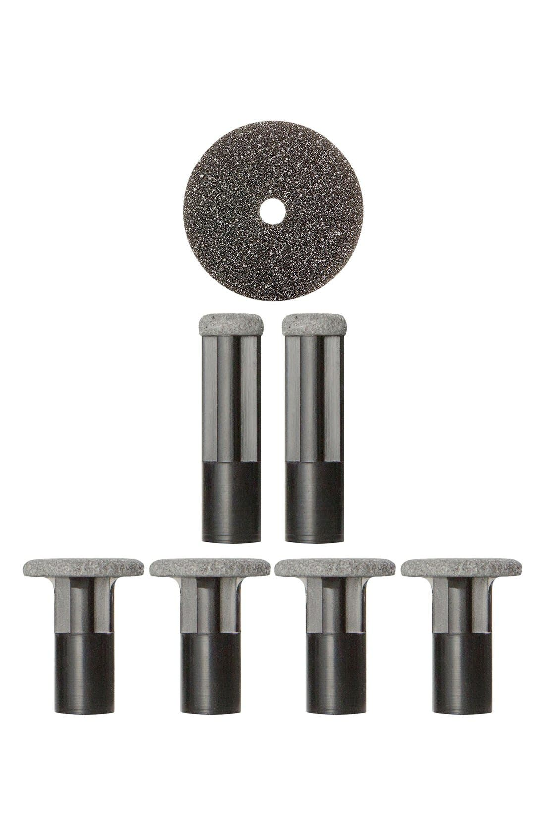 Black Body & Feet Replacement Discs,                         Main,                         color, 000