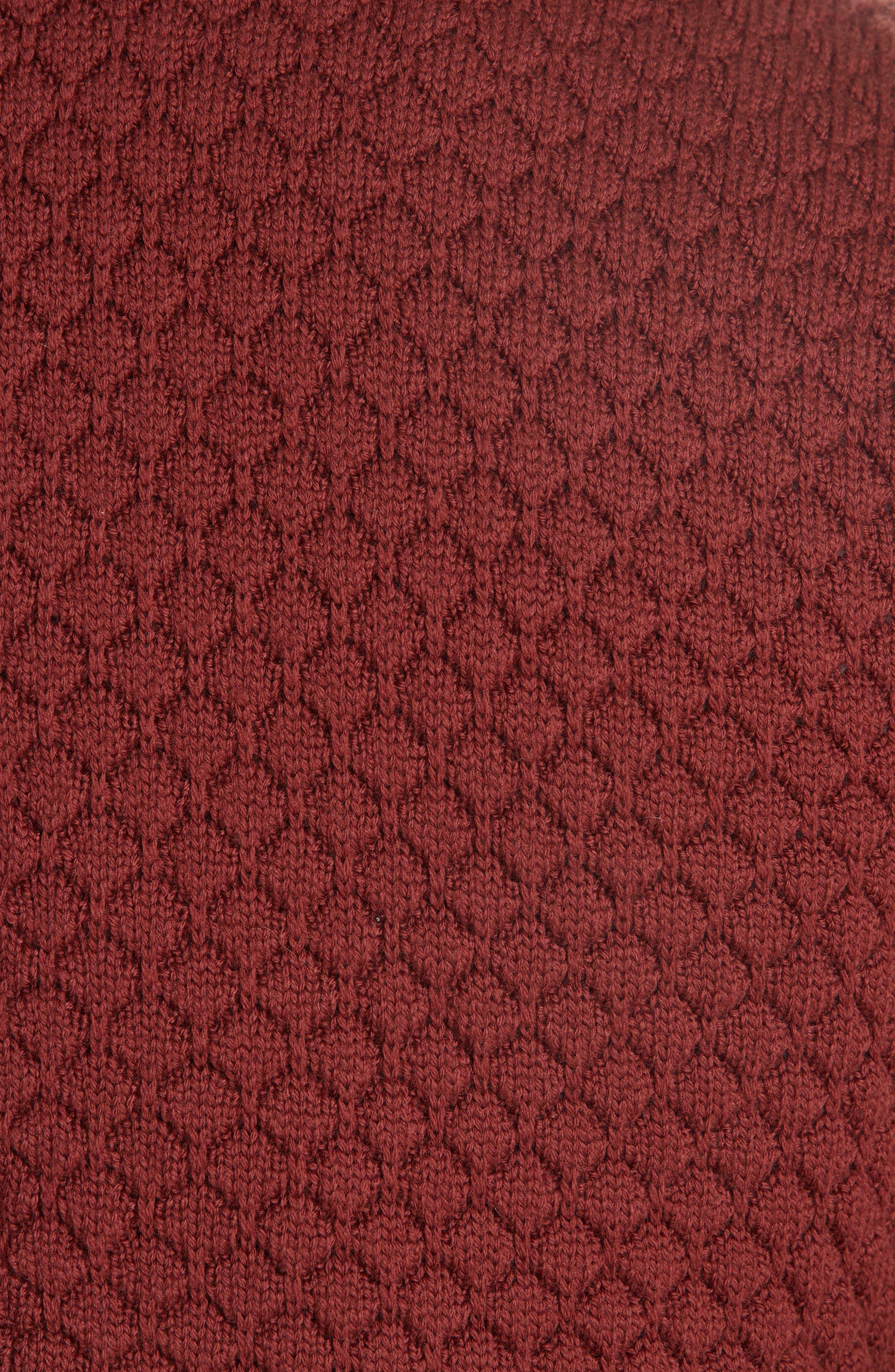 Wool Sweater Jacket,                             Alternate thumbnail 6, color,                             223