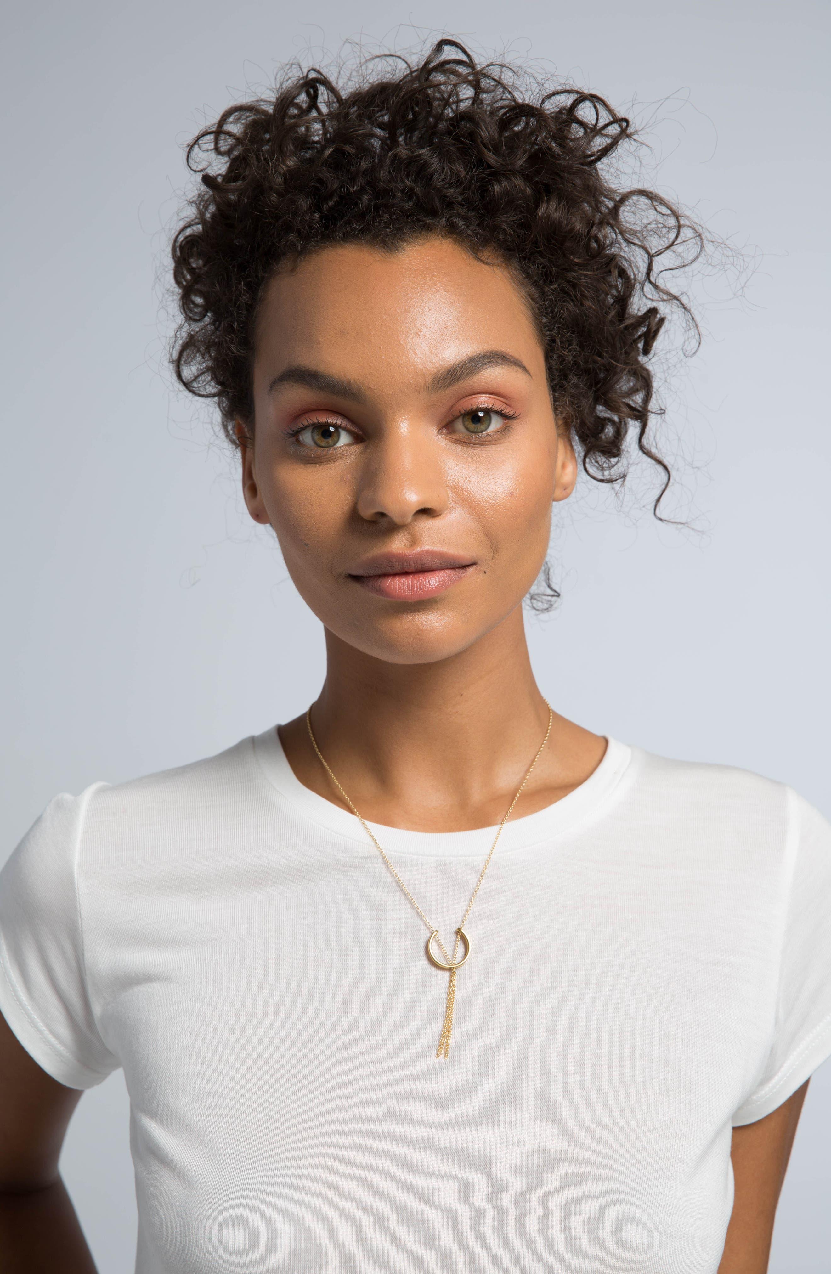 Mini Hewa Necklace,                             Alternate thumbnail 3, color,                             710