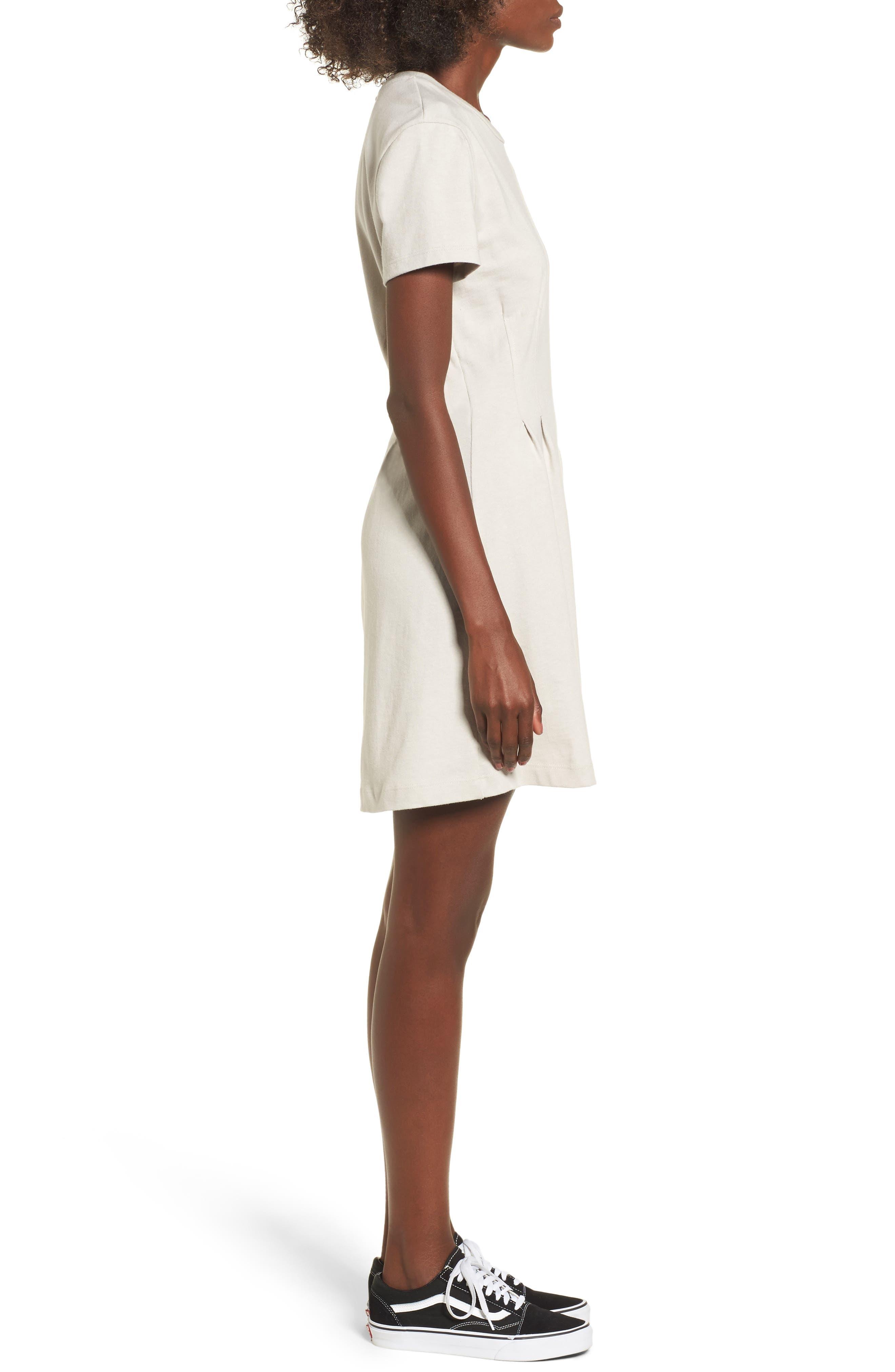 Cotton T-Shirt Dress,                             Alternate thumbnail 6, color,