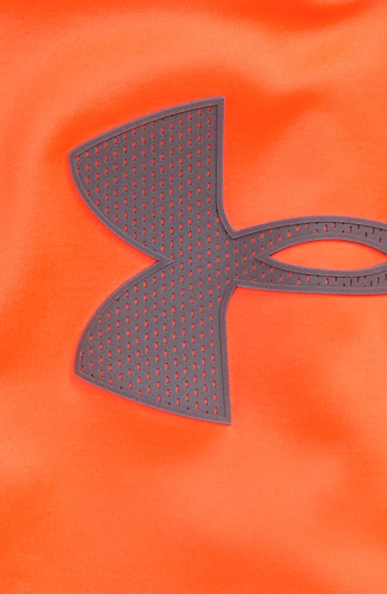 Mesh Big Logo Pullover Hoodie,                             Alternate thumbnail 6, color,
