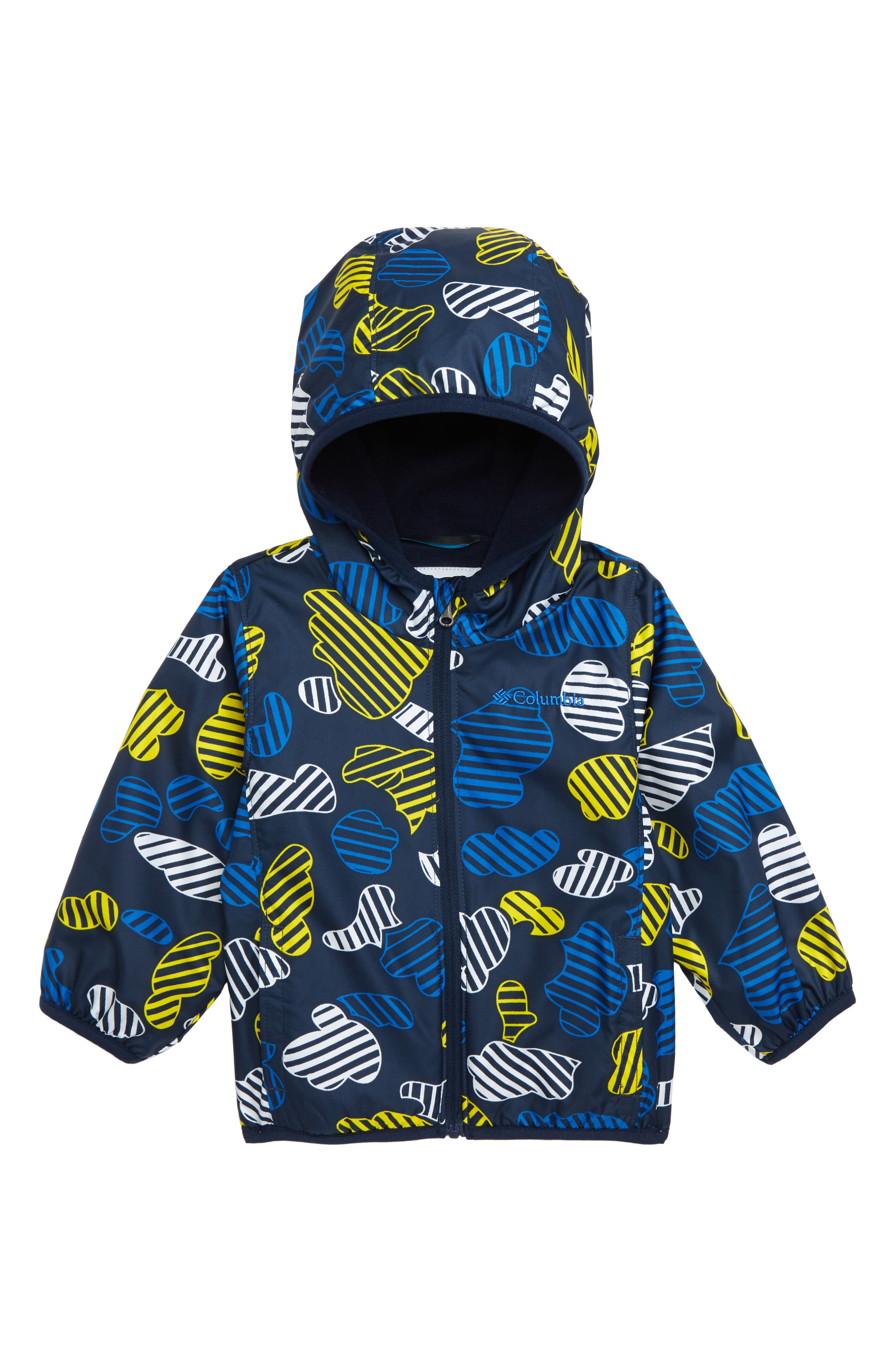 752bf17560331 Infant Boy s Columbia Mini Pixel Grabber(TM) Ii Water Resistant Hooded  Jacket