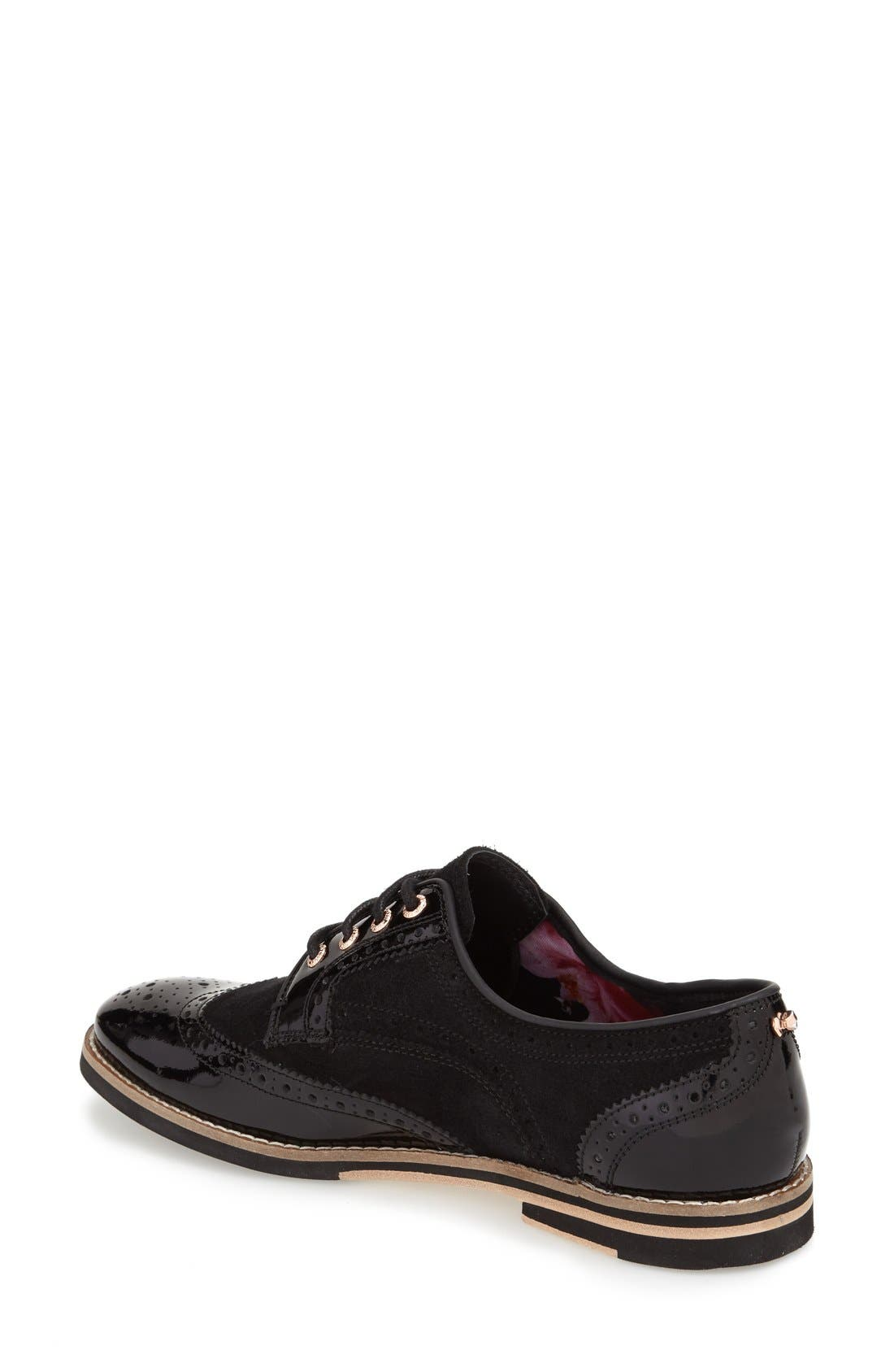 TED BAKER LONDON,                             'Anoihe' Oxford,                             Alternate thumbnail 3, color,                             015