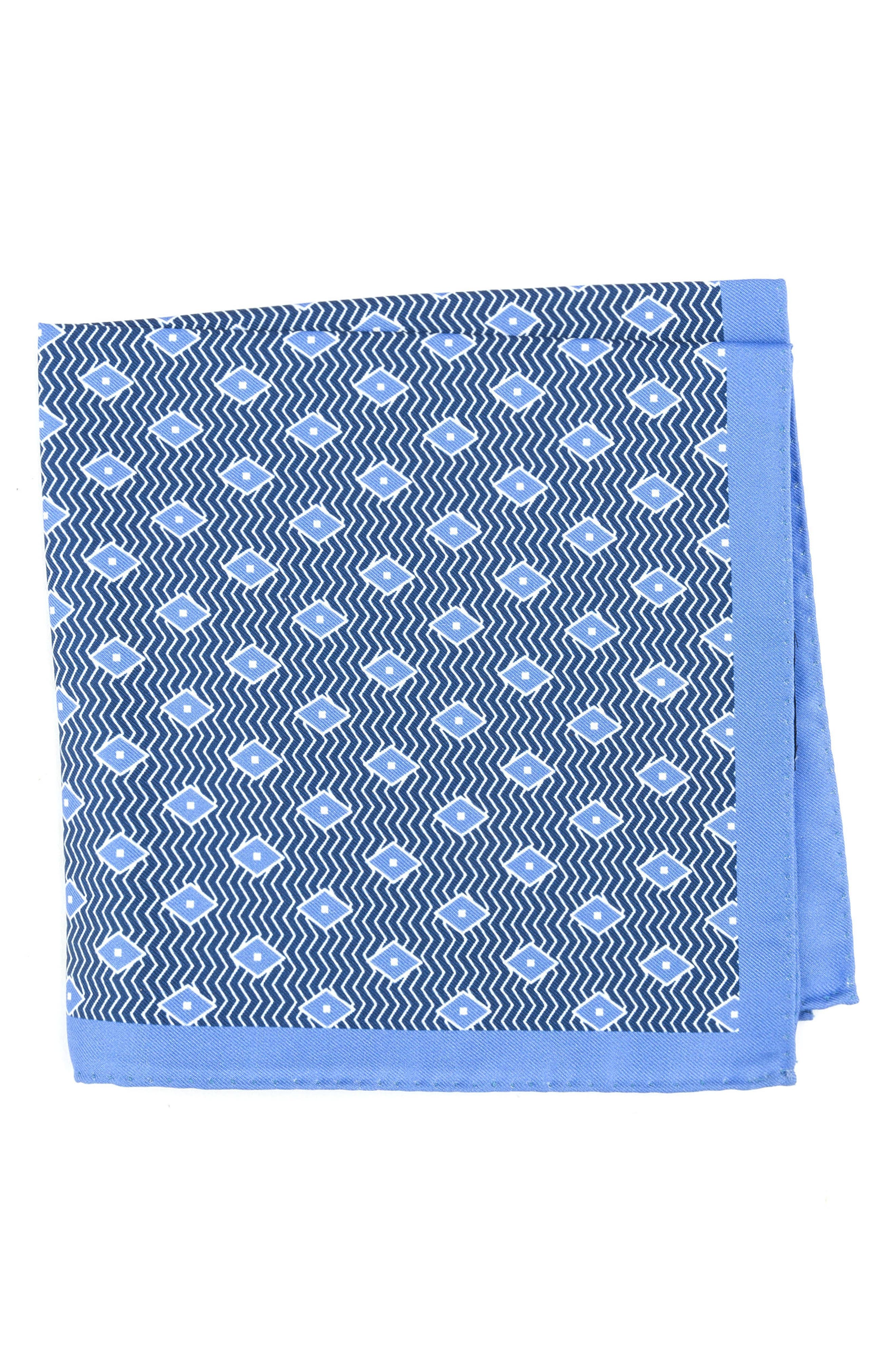 Diamond Silk Pocket Square,                             Main thumbnail 1, color,                             400