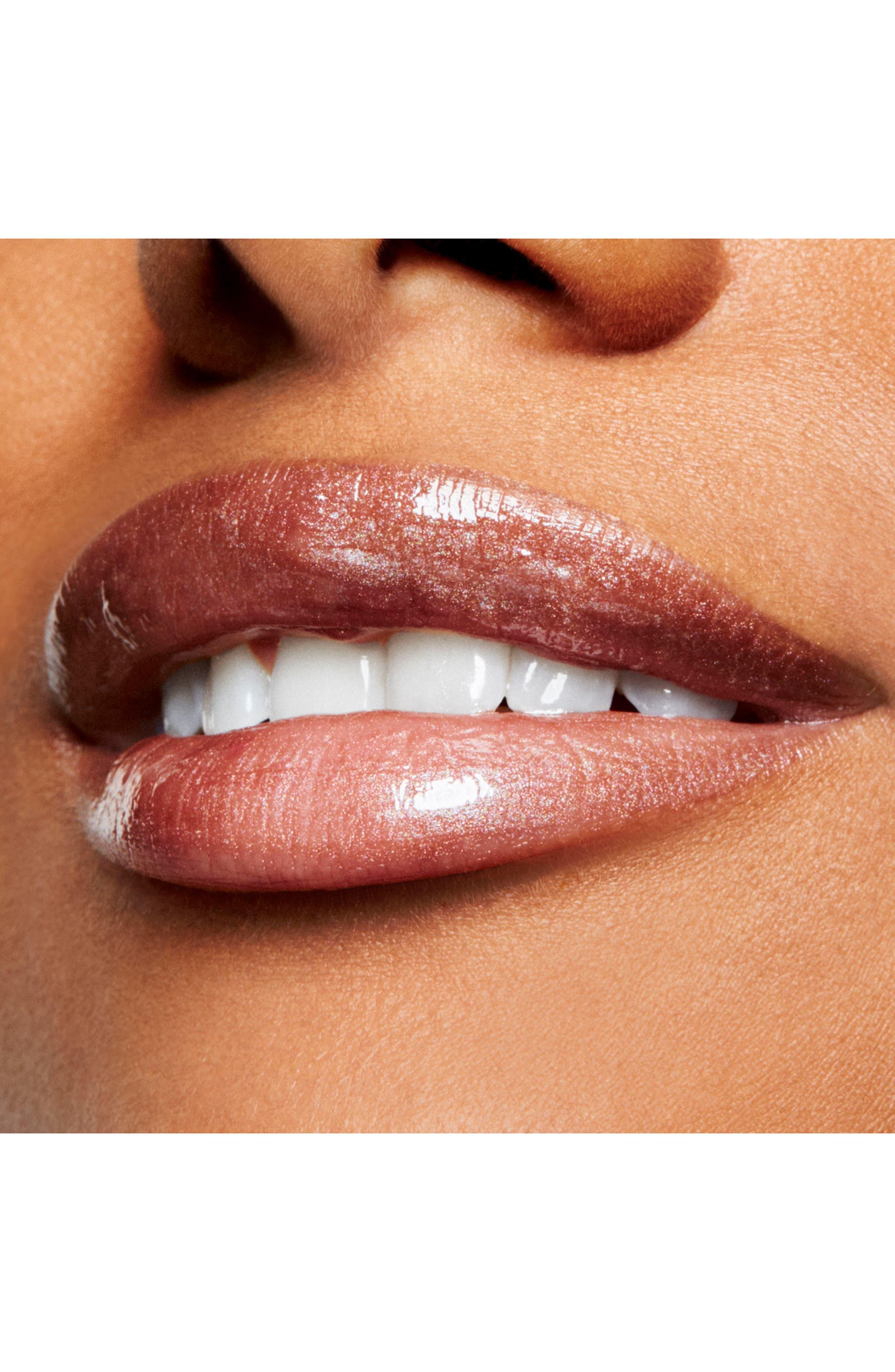 MAC Lipglass,                             Alternate thumbnail 3, color,                             STEEL KISS