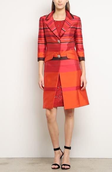 Glamour Sequin Knit Sheath Dress, video thumbnail