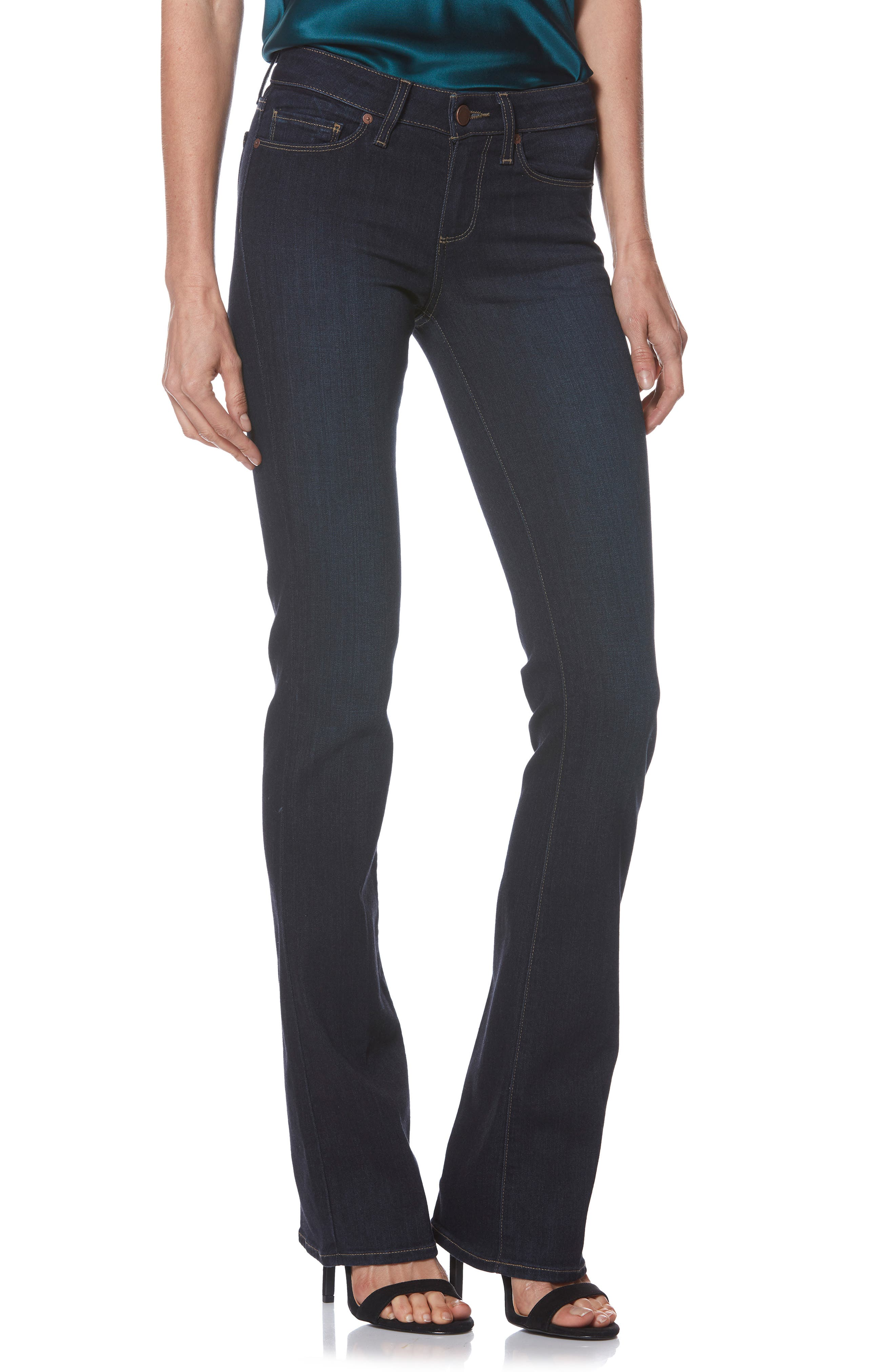 Transcend - Manhattan Bootcut Jeans,                         Main,                         color, SANIA