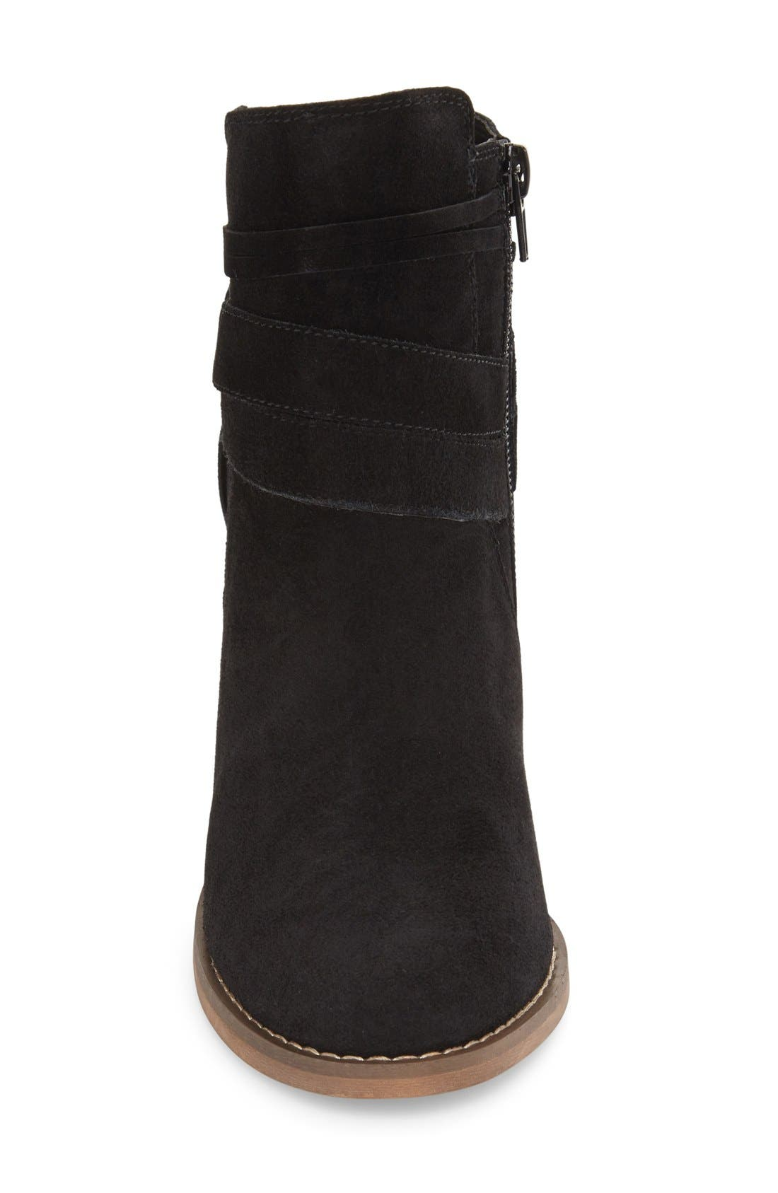 Rumi Bootie,                             Alternate thumbnail 4, color,                             BLACK