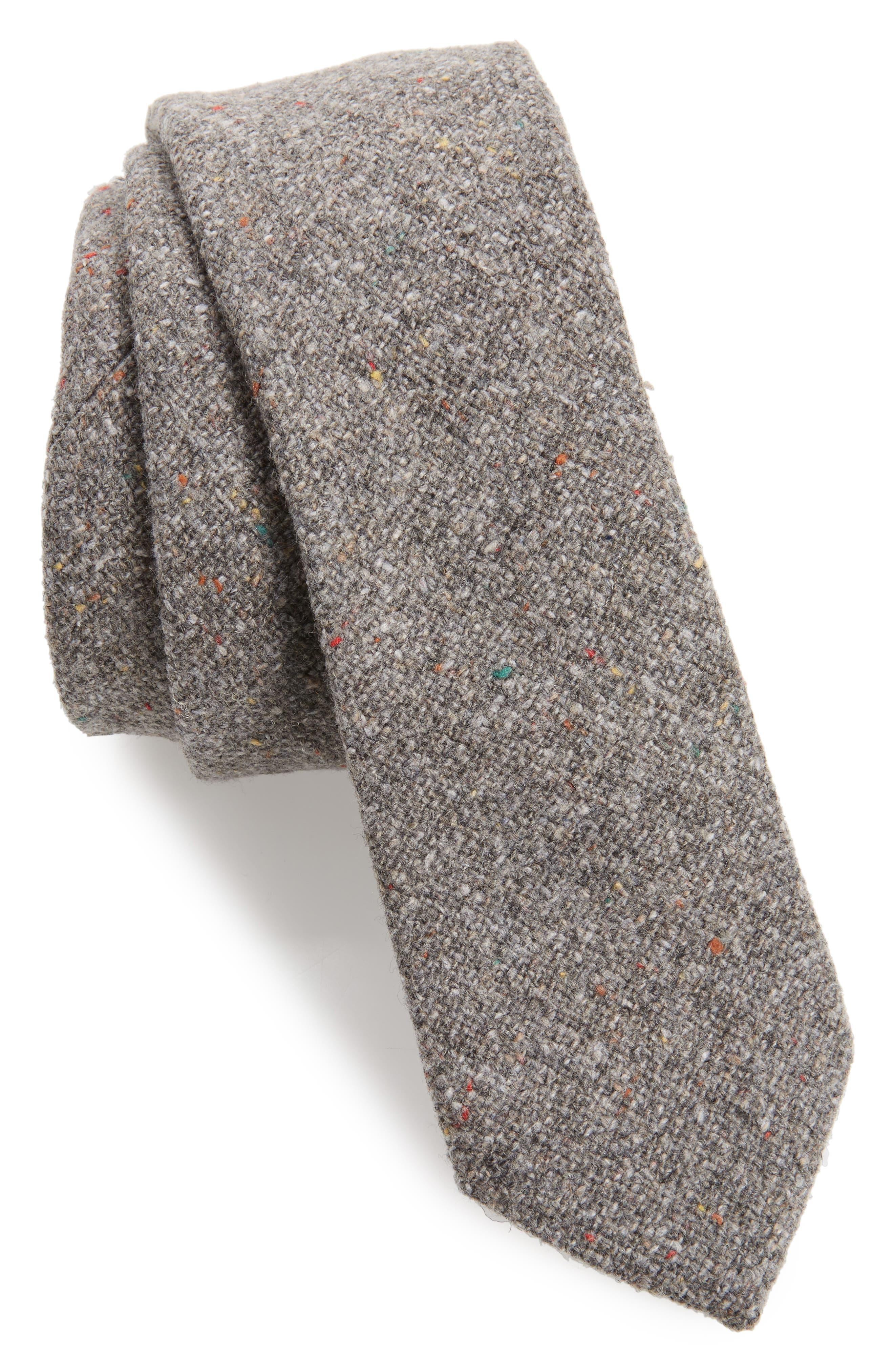 Beaufort Solid Wool Blend Tie,                         Main,                         color, 020