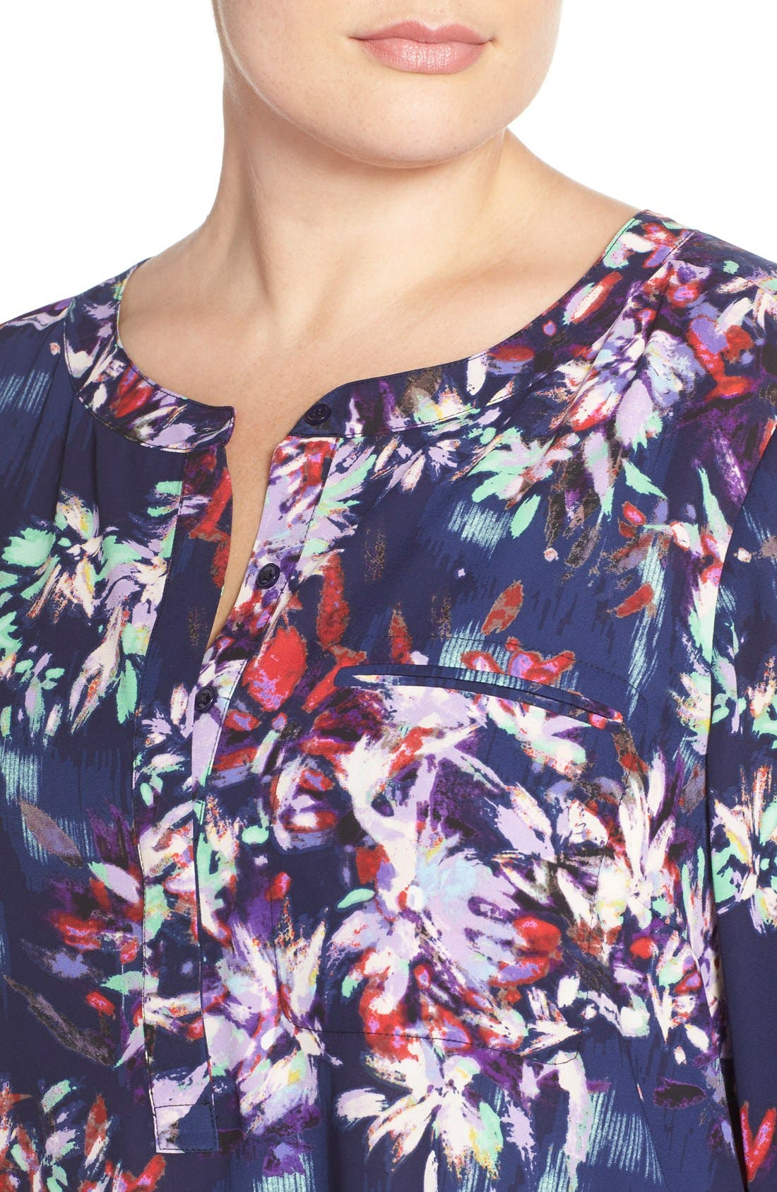 Henley Top,                             Alternate thumbnail 230, color,