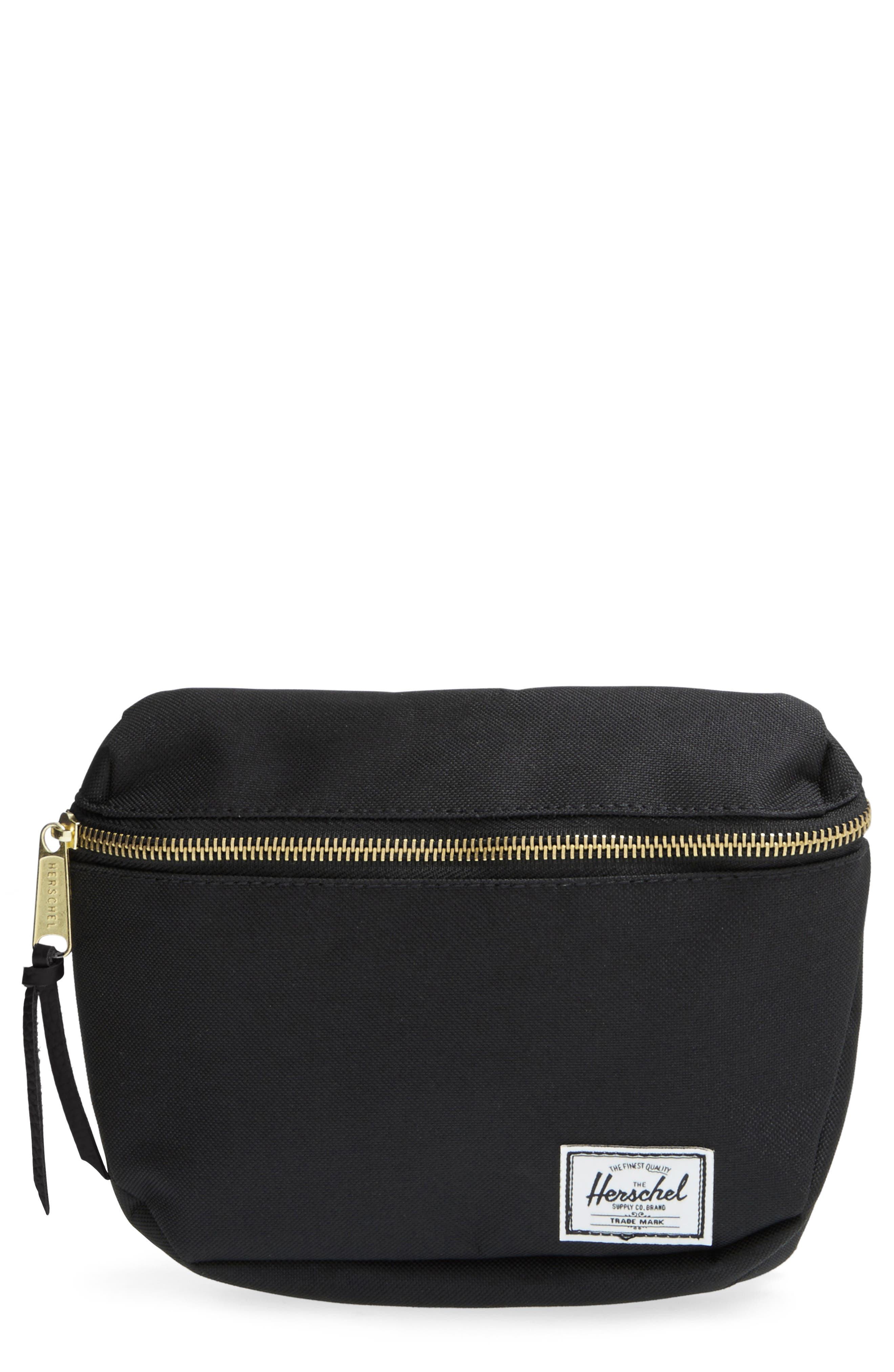 Fifteen Belt Bag,                         Main,                         color, BLACK