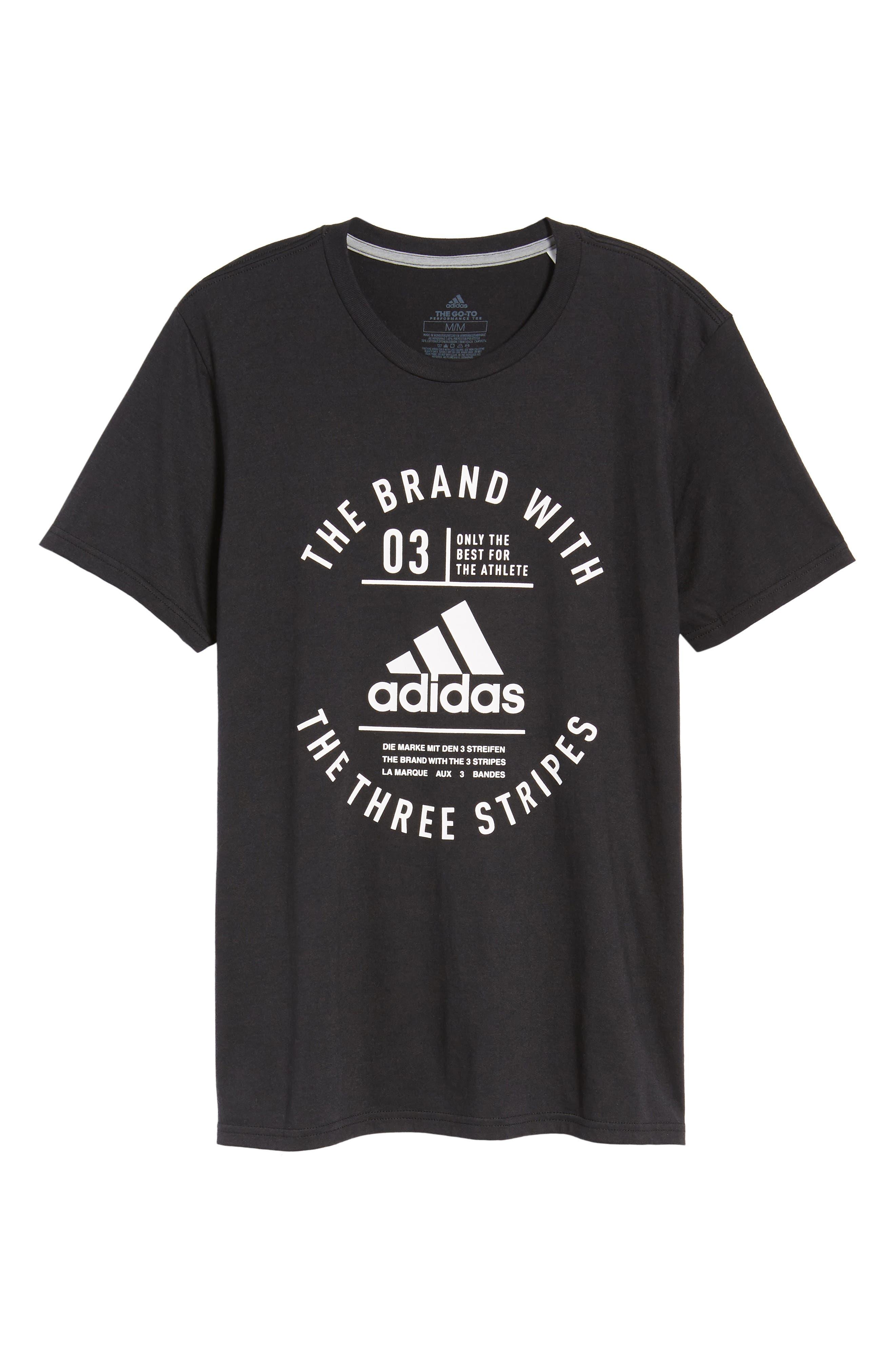 TSL Emblem T-Shirt,                             Alternate thumbnail 6, color,                             BLACK / WHITE