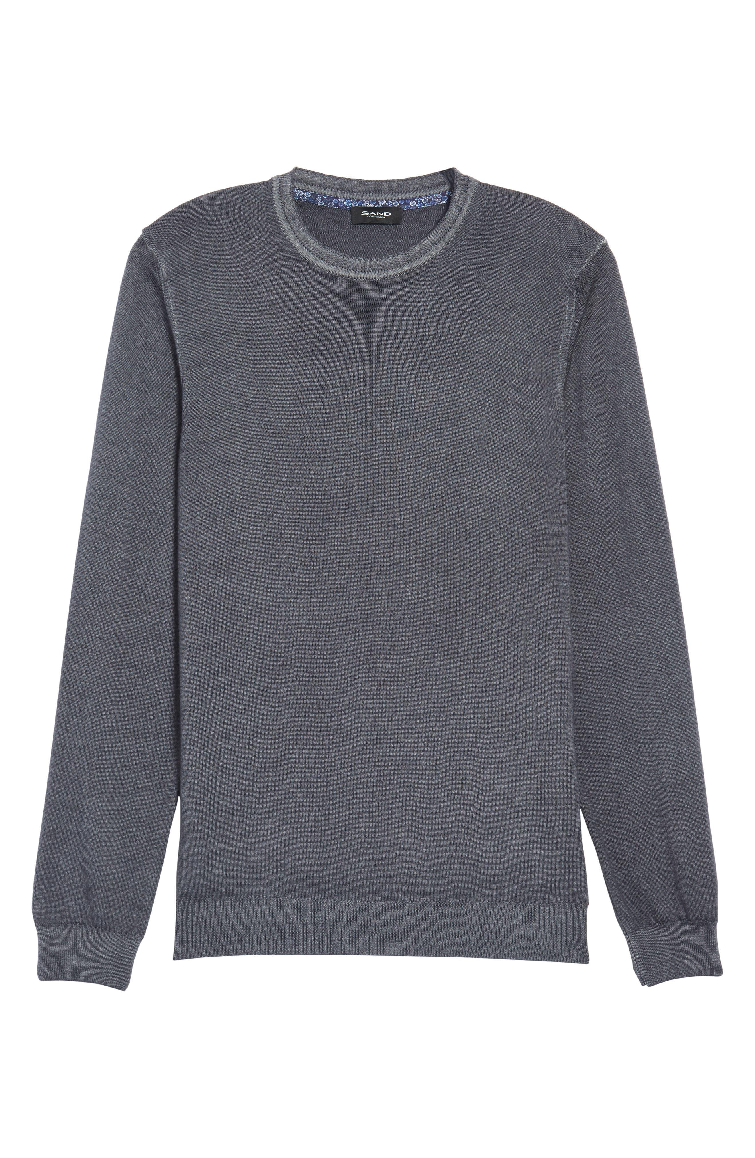 V-Neck Merino Wool Sweater,                             Alternate thumbnail 16, color,