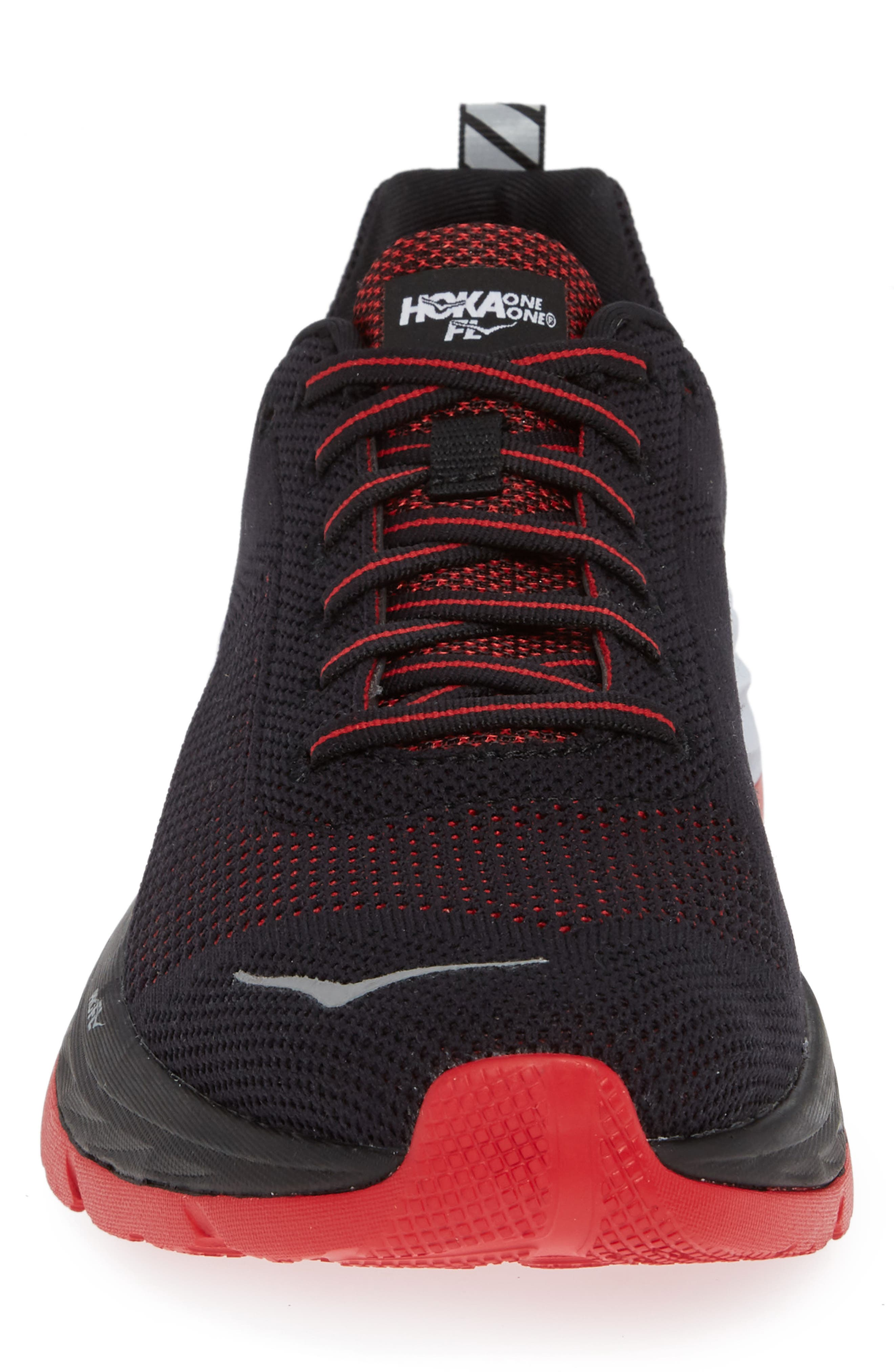 Mach Running Shoe,                             Alternate thumbnail 4, color,                             BLACK/ WHITE