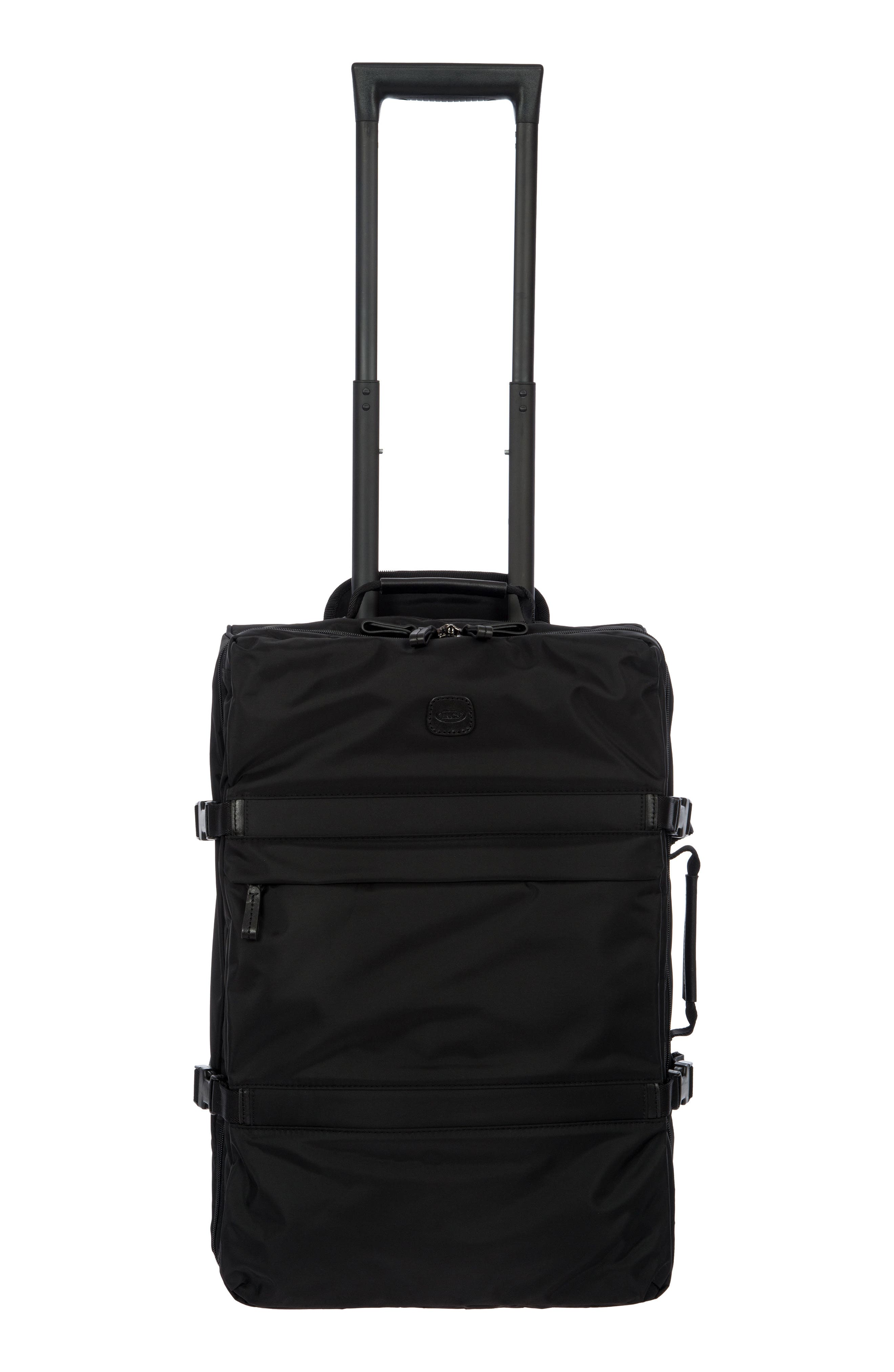 "X-Travel 21"" Montagna Carry-On Trolley Luggage in Black/ Black"
