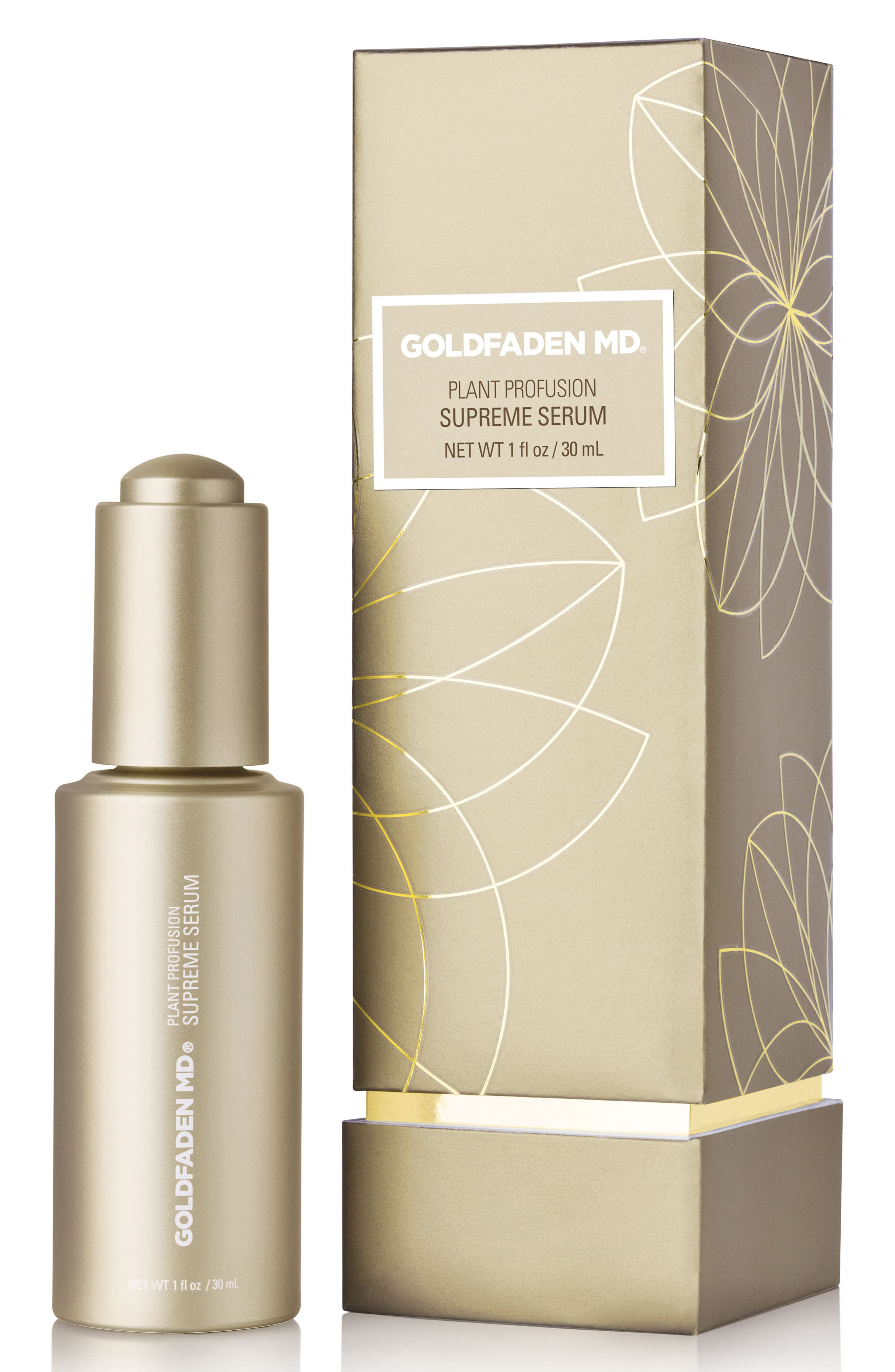 SPACE.NK.apothecary Goldfaden MD Plant Profusion Supreme Serum,                             Main thumbnail 1, color,                             000