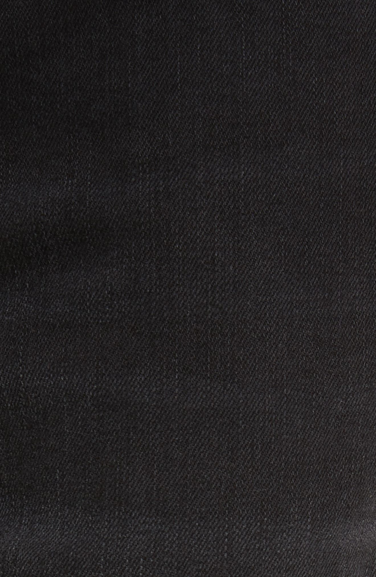 River Used Jeans,                             Alternate thumbnail 5, color,                             151 USED BLACK