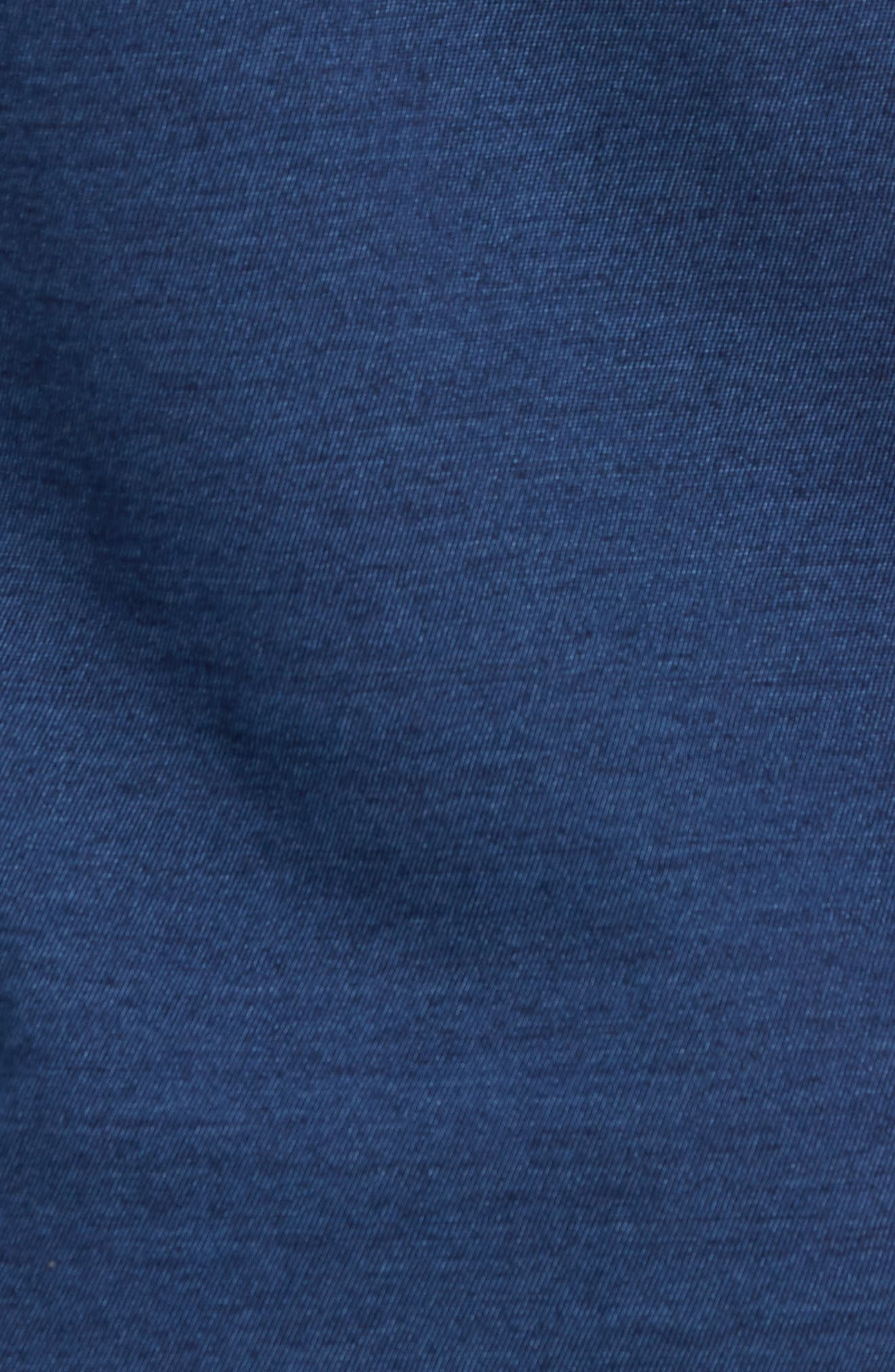 Engineered Indigo Stripe T-Shirt,                             Alternate thumbnail 5, color,                             420