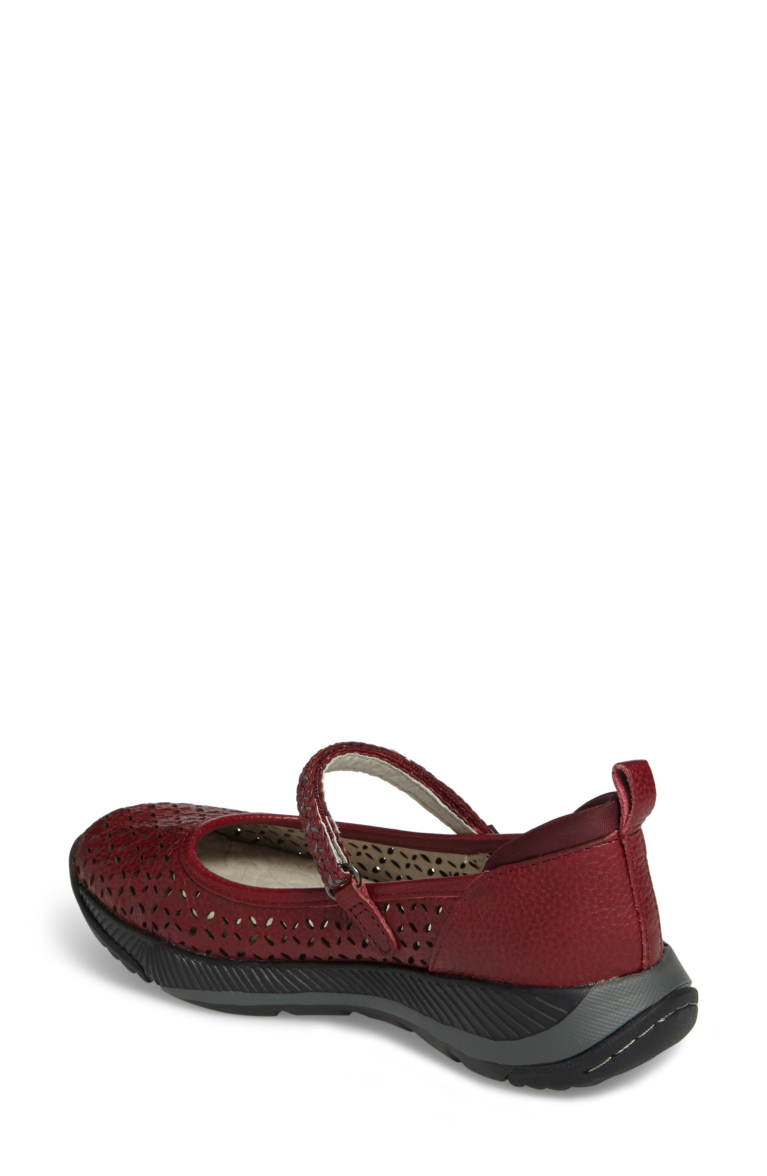 Bailey Perforated Mary Jane Sneaker,                             Alternate thumbnail 7, color,