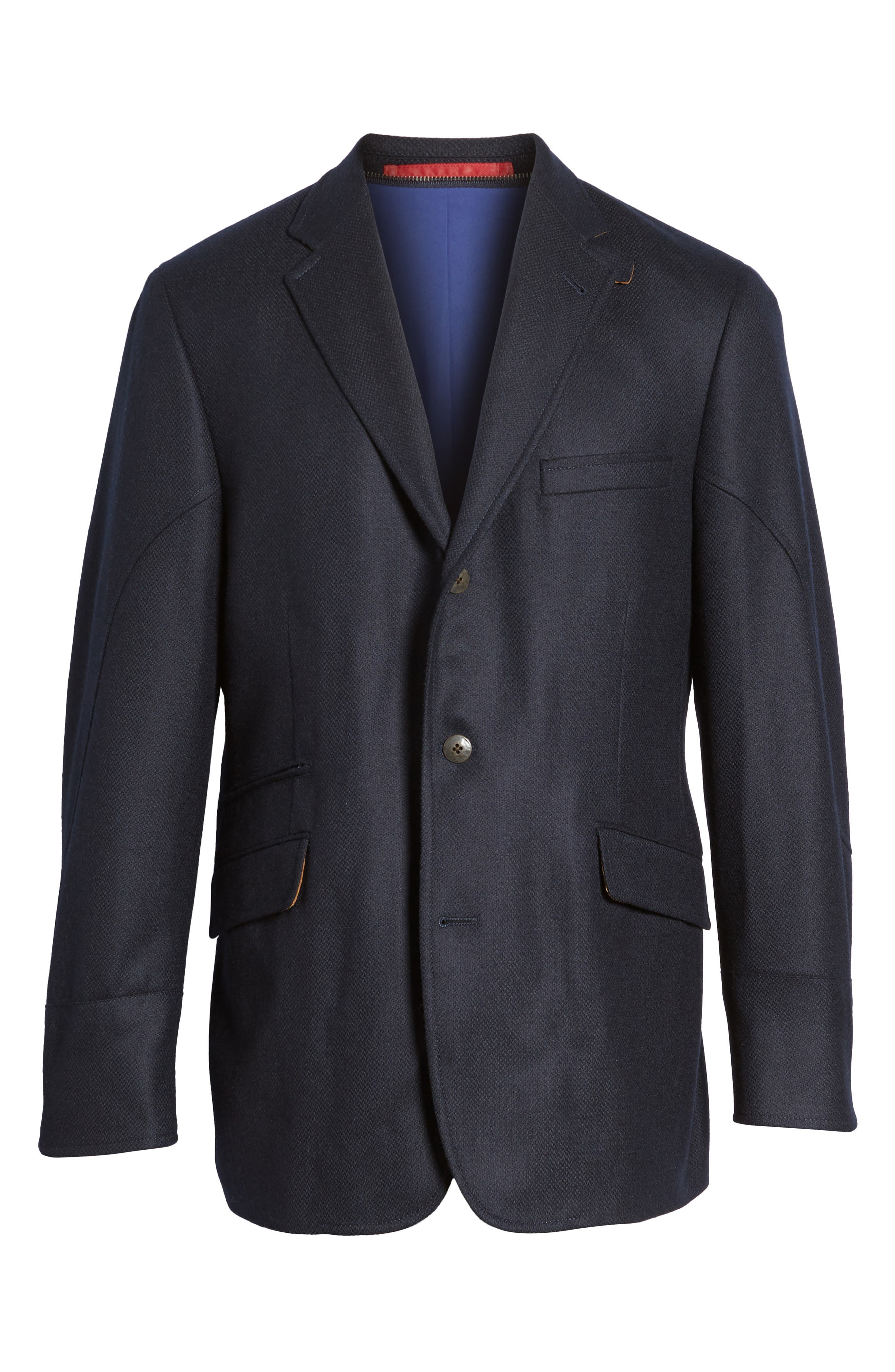 Ritchie Aim Hybrid Classic Fit Wool & Cashmere Sport Coat,                             Alternate thumbnail 5, color,                             410