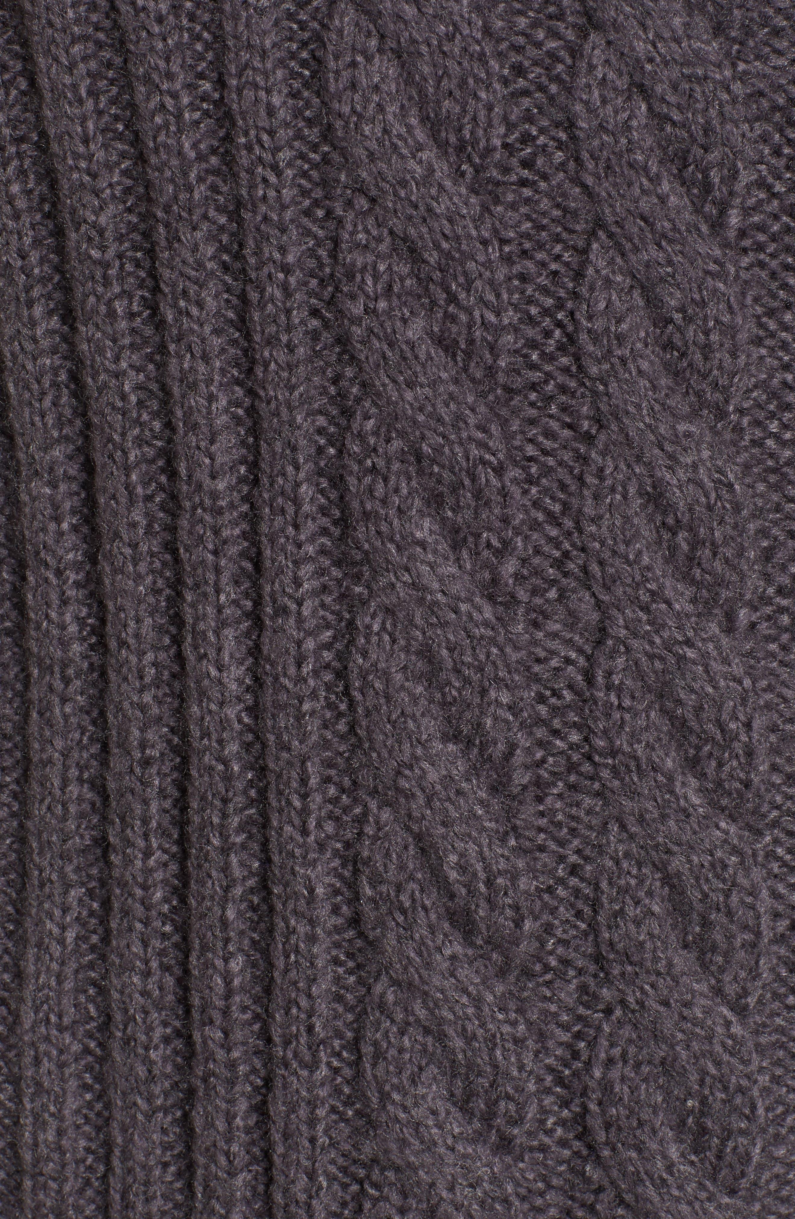 Mix Stitch Cotton Blend Sweater,                             Alternate thumbnail 5, color,                             021