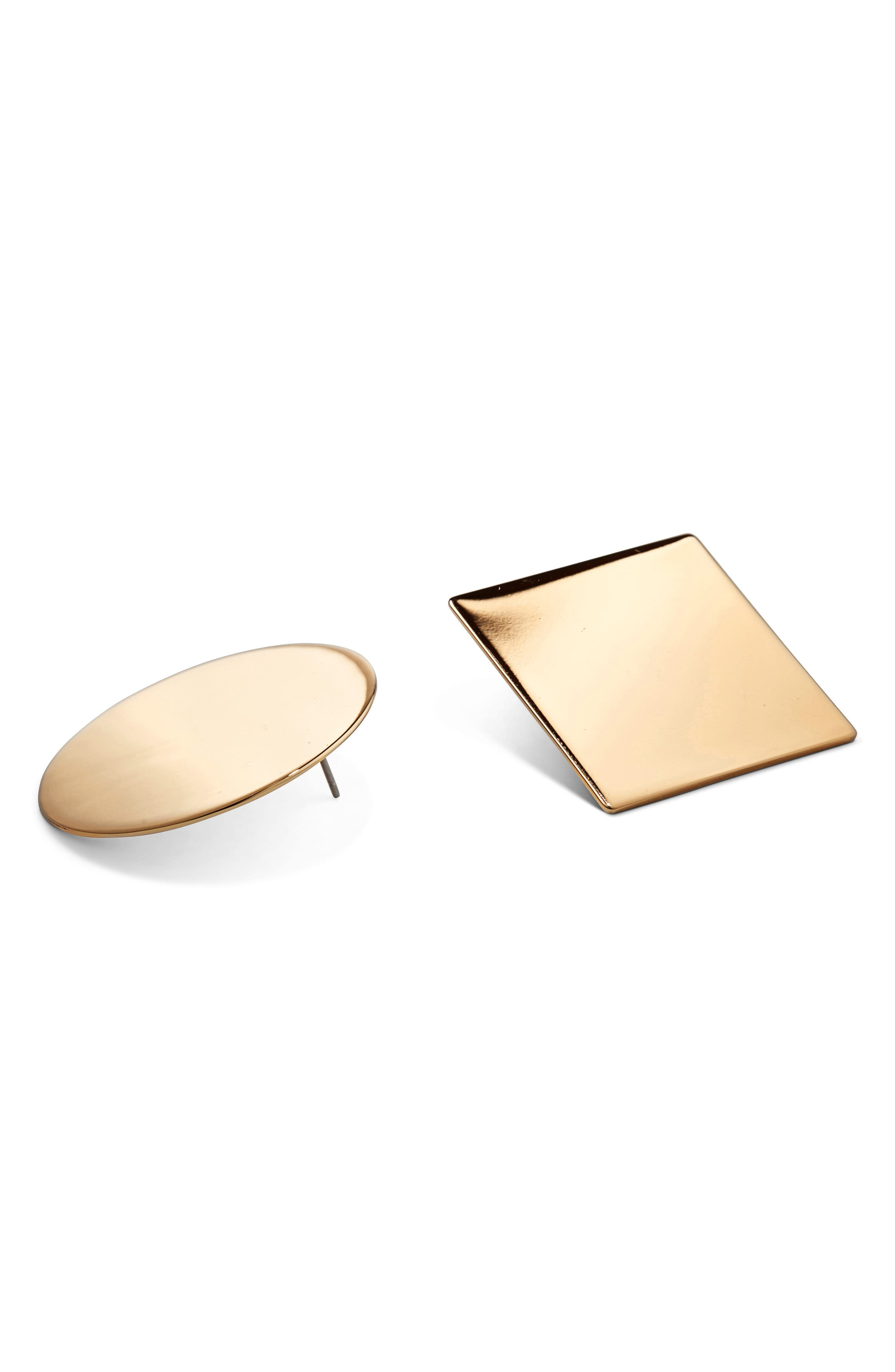 JENNY BIRD The Baysides Mismatch Earrings in Gold