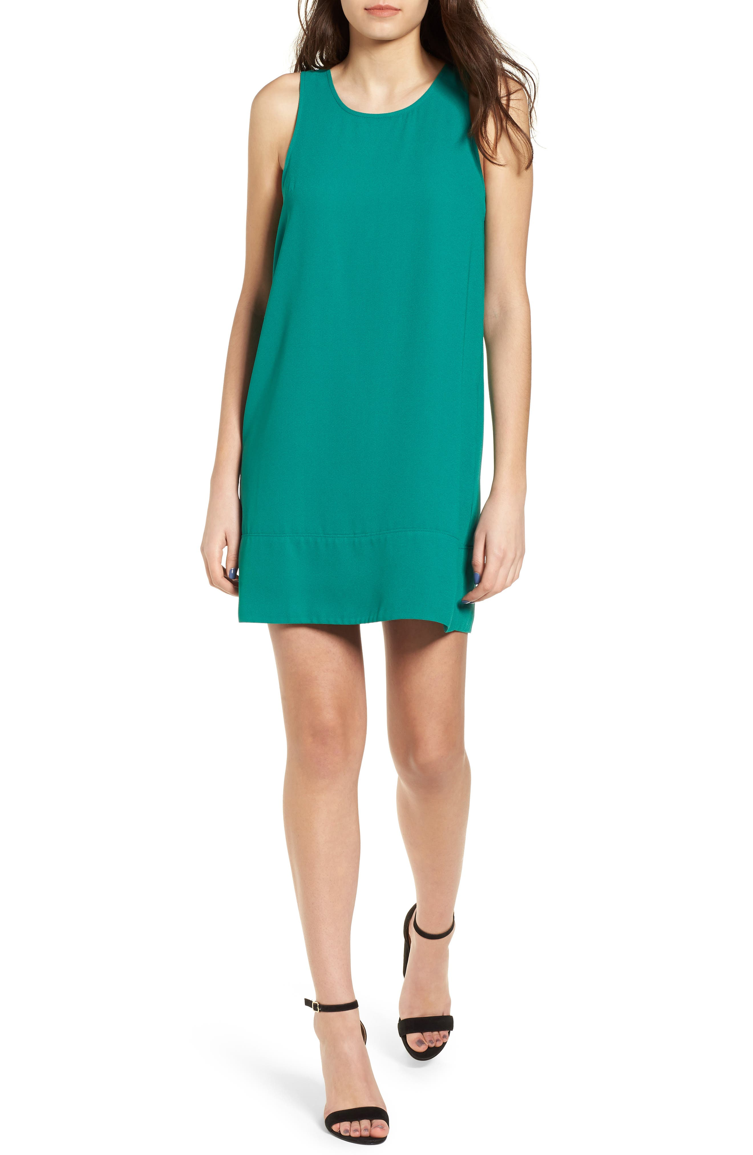 Racerback Shift Dress,                             Alternate thumbnail 186, color,