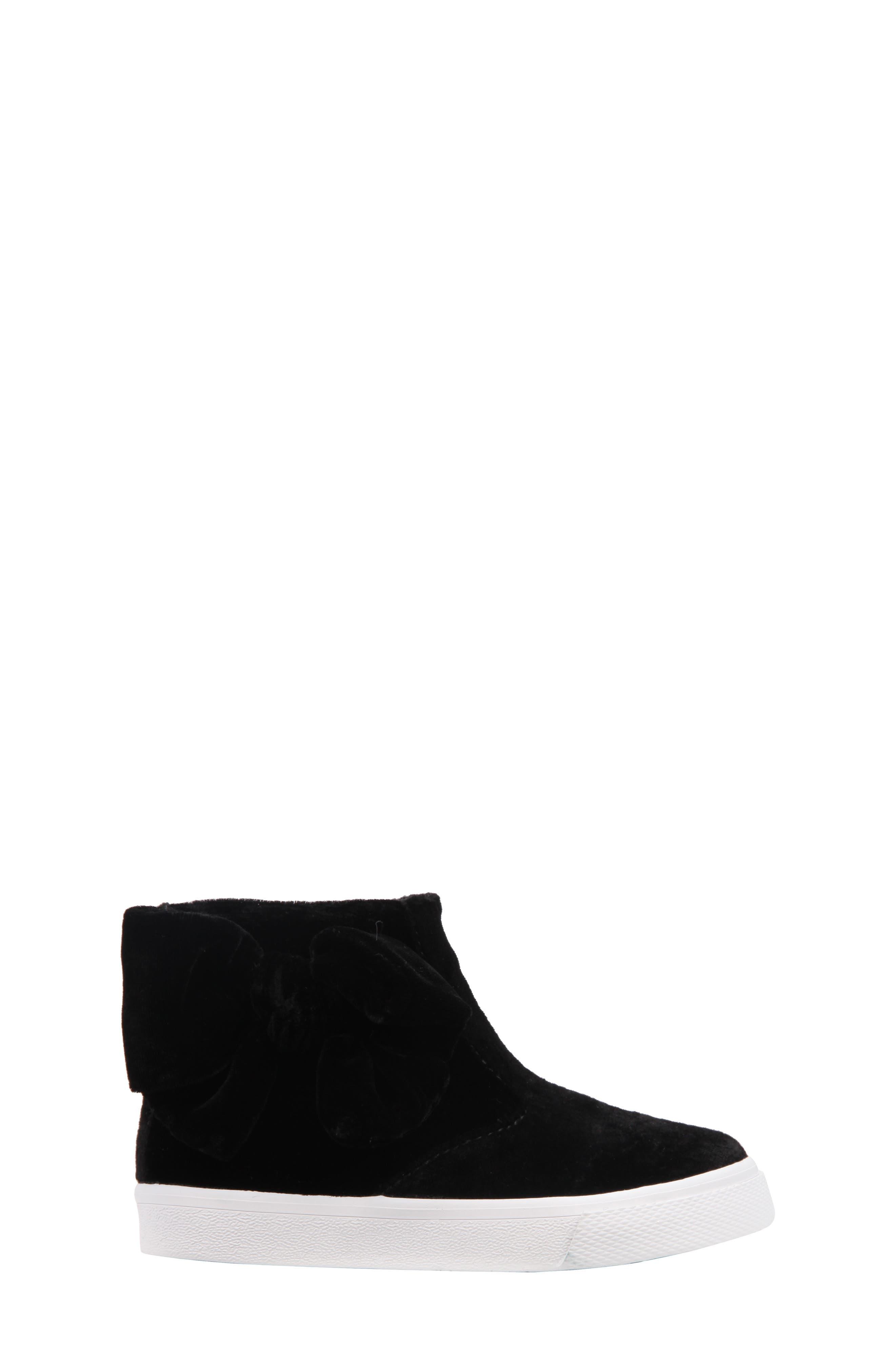 Harolyn Bow Bootie Sneaker,                             Alternate thumbnail 3, color,                             005