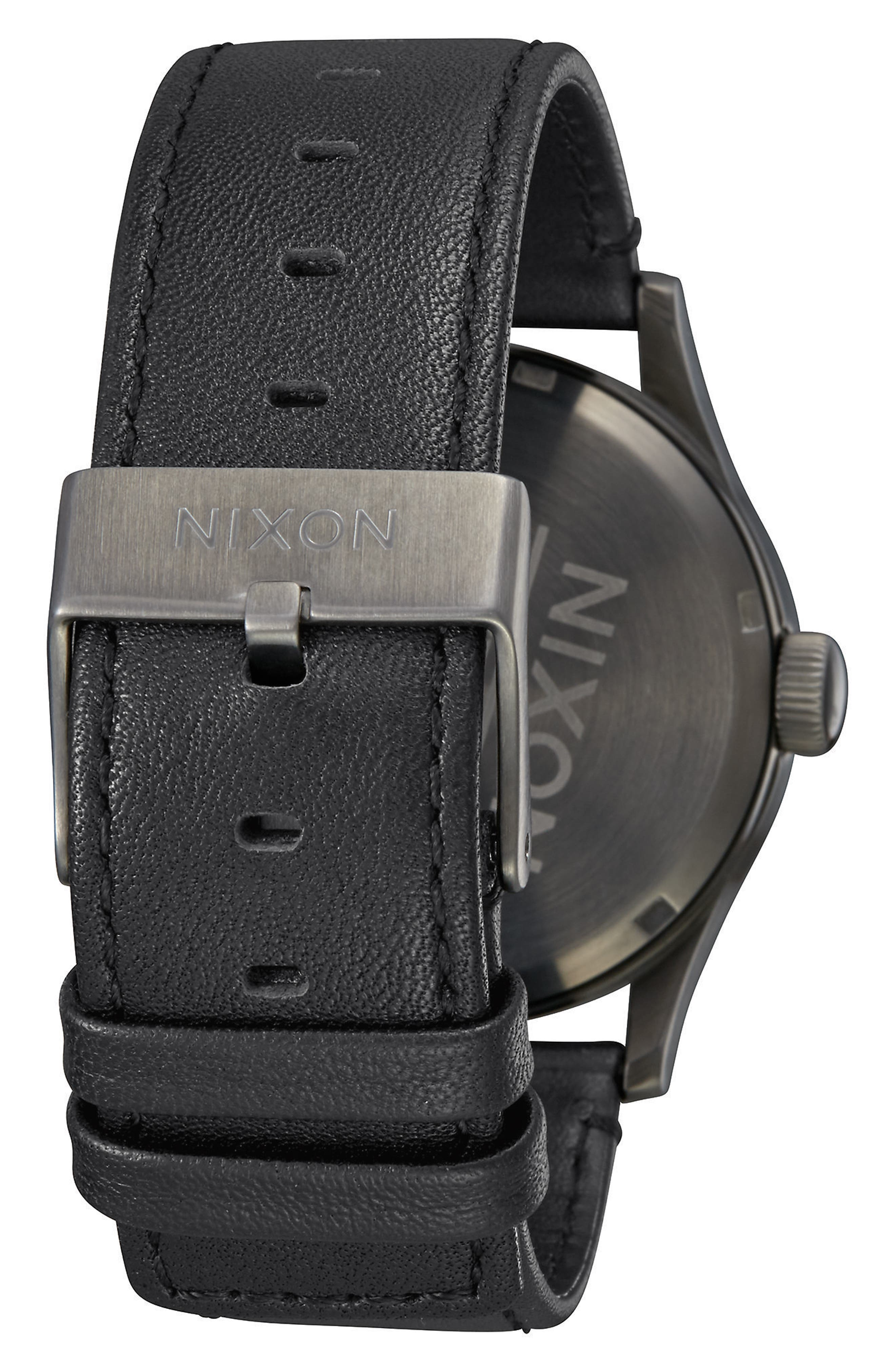 The Sentry Leather Strap Watch, 42mm,                             Alternate thumbnail 73, color,