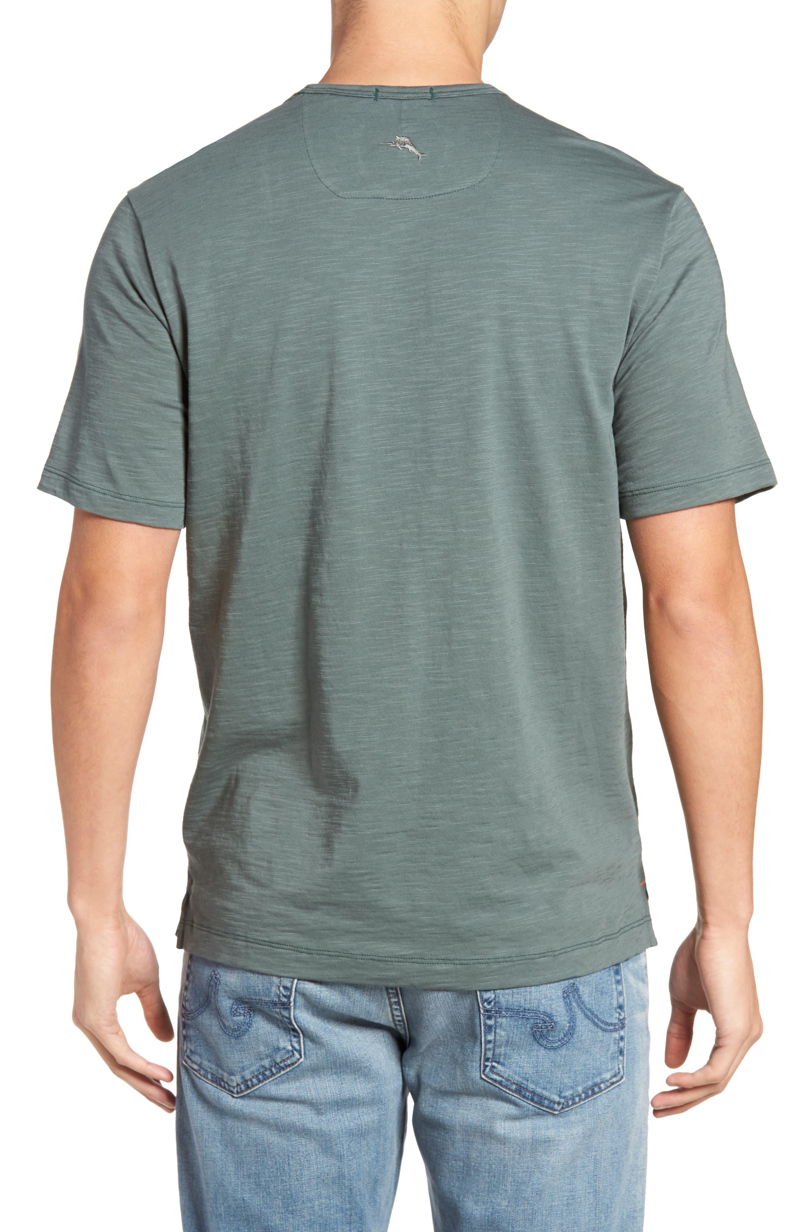'Portside Player' Pima Cotton T-Shirt,                             Alternate thumbnail 18, color,