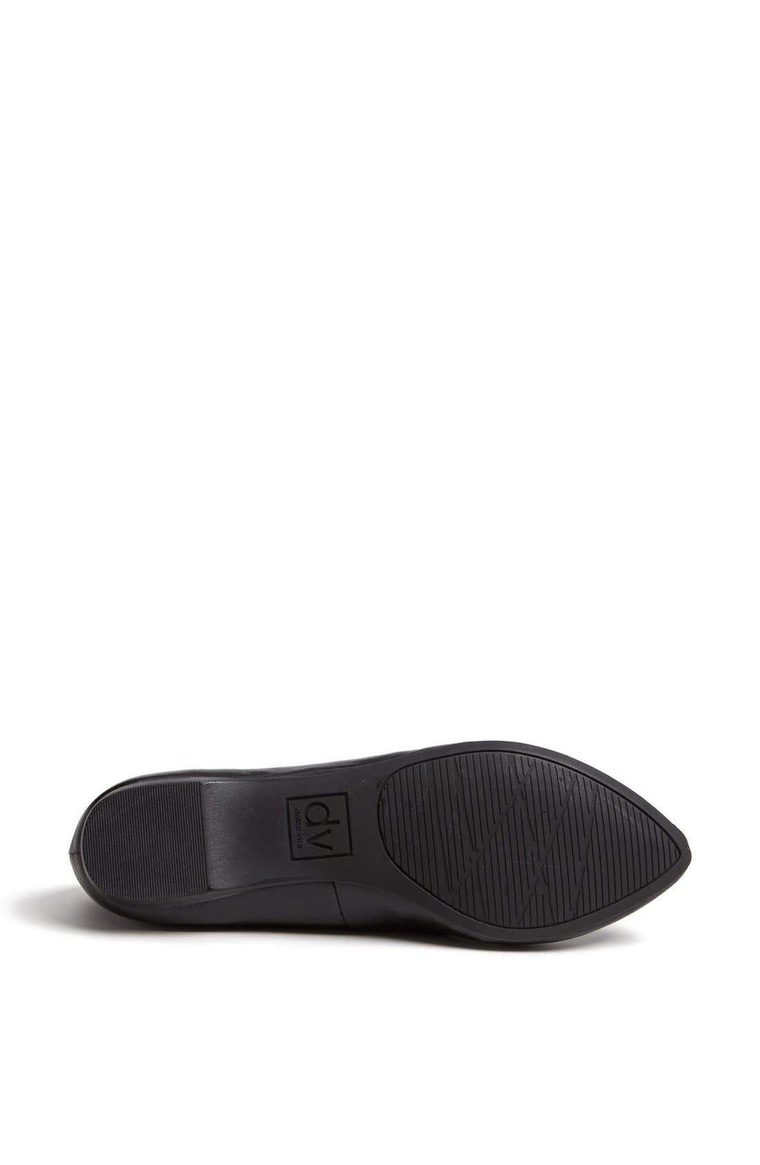 DV BY DOLCE VITA,                             'Langely' Flat,                             Alternate thumbnail 3, color,                             001
