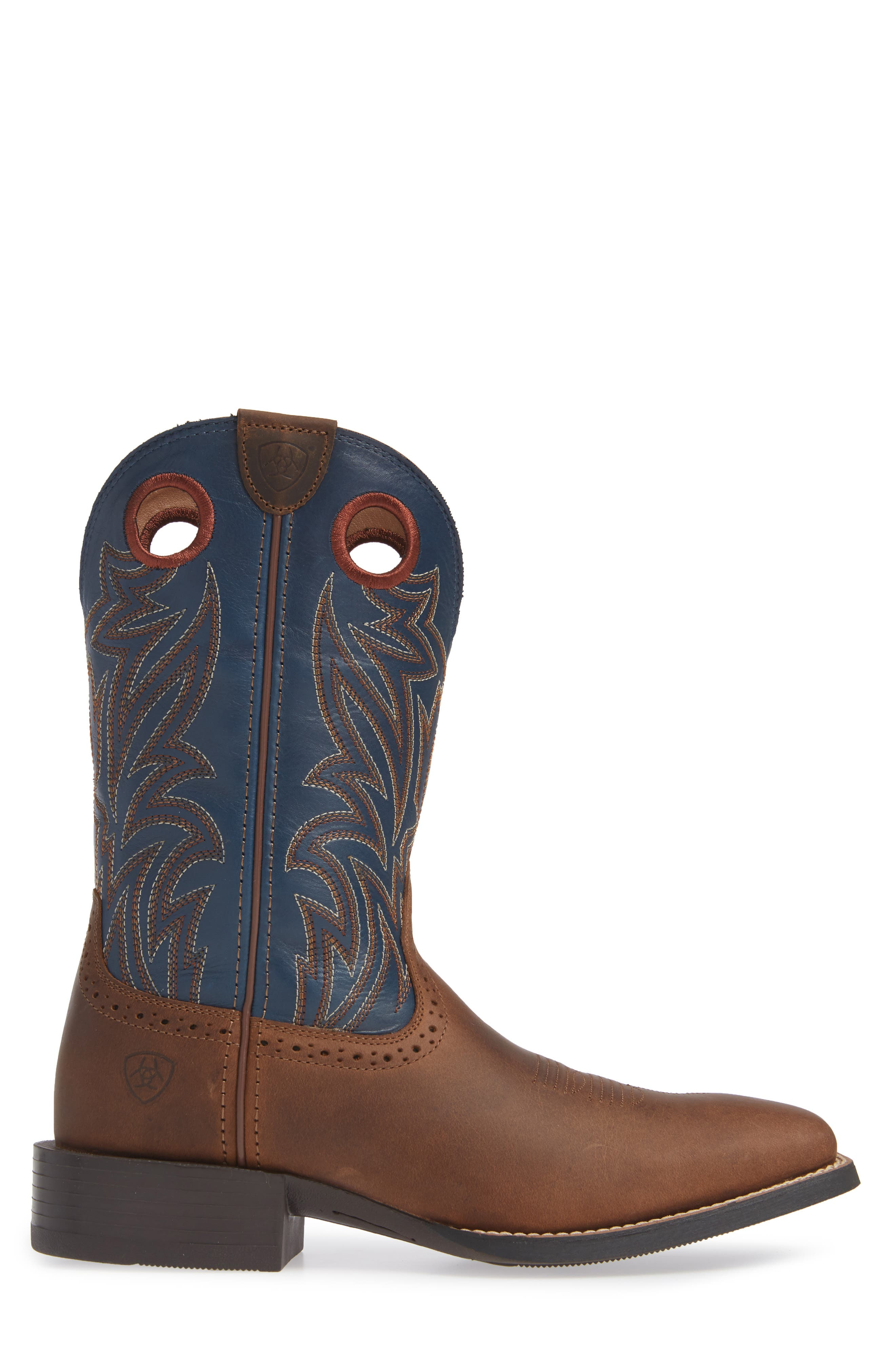 Sport Sidebet Cowboy Boot,                             Alternate thumbnail 3, color,                             400