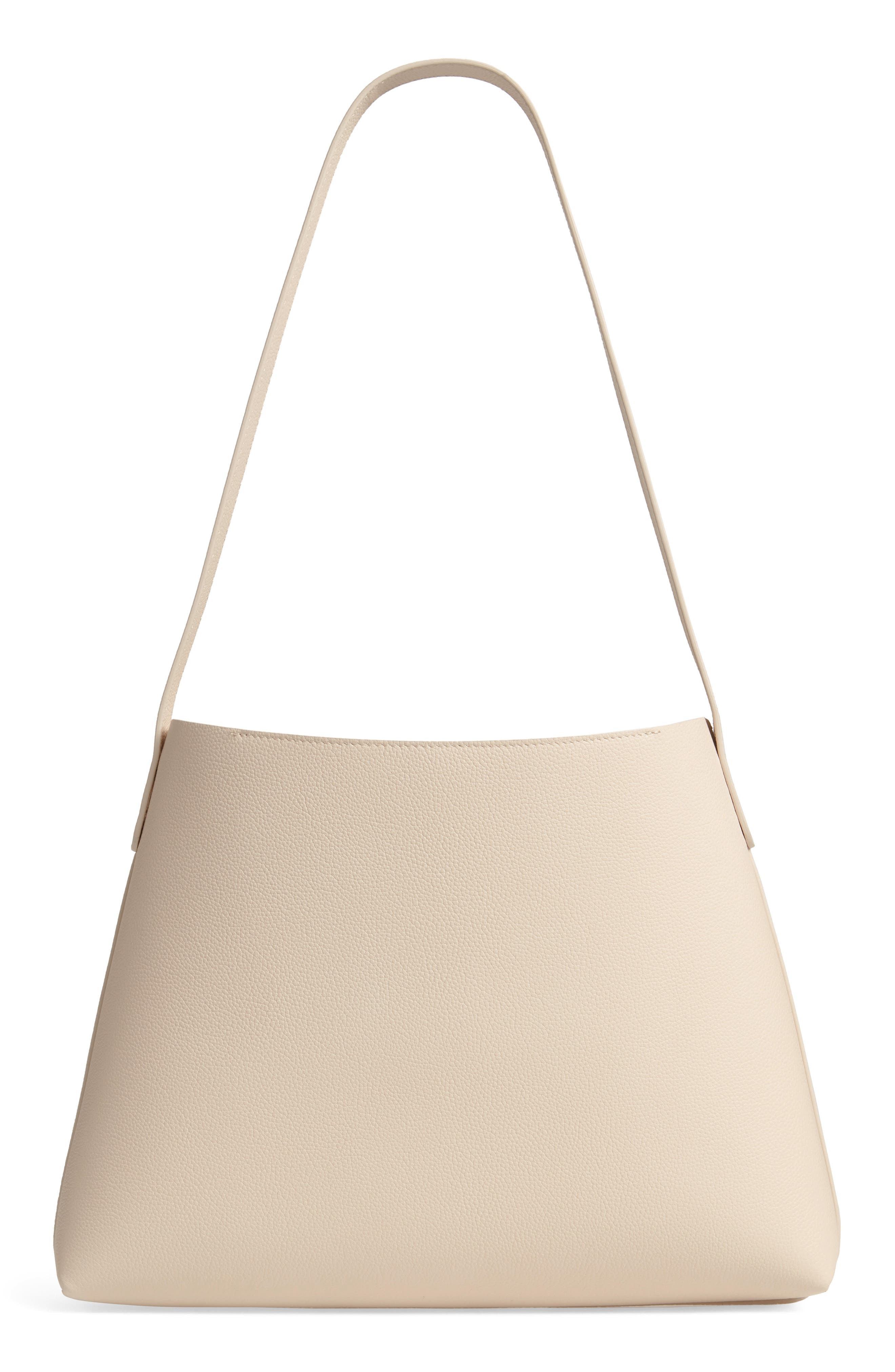 Small Pebbled Leather Hobo,                             Alternate thumbnail 3, color,                             900