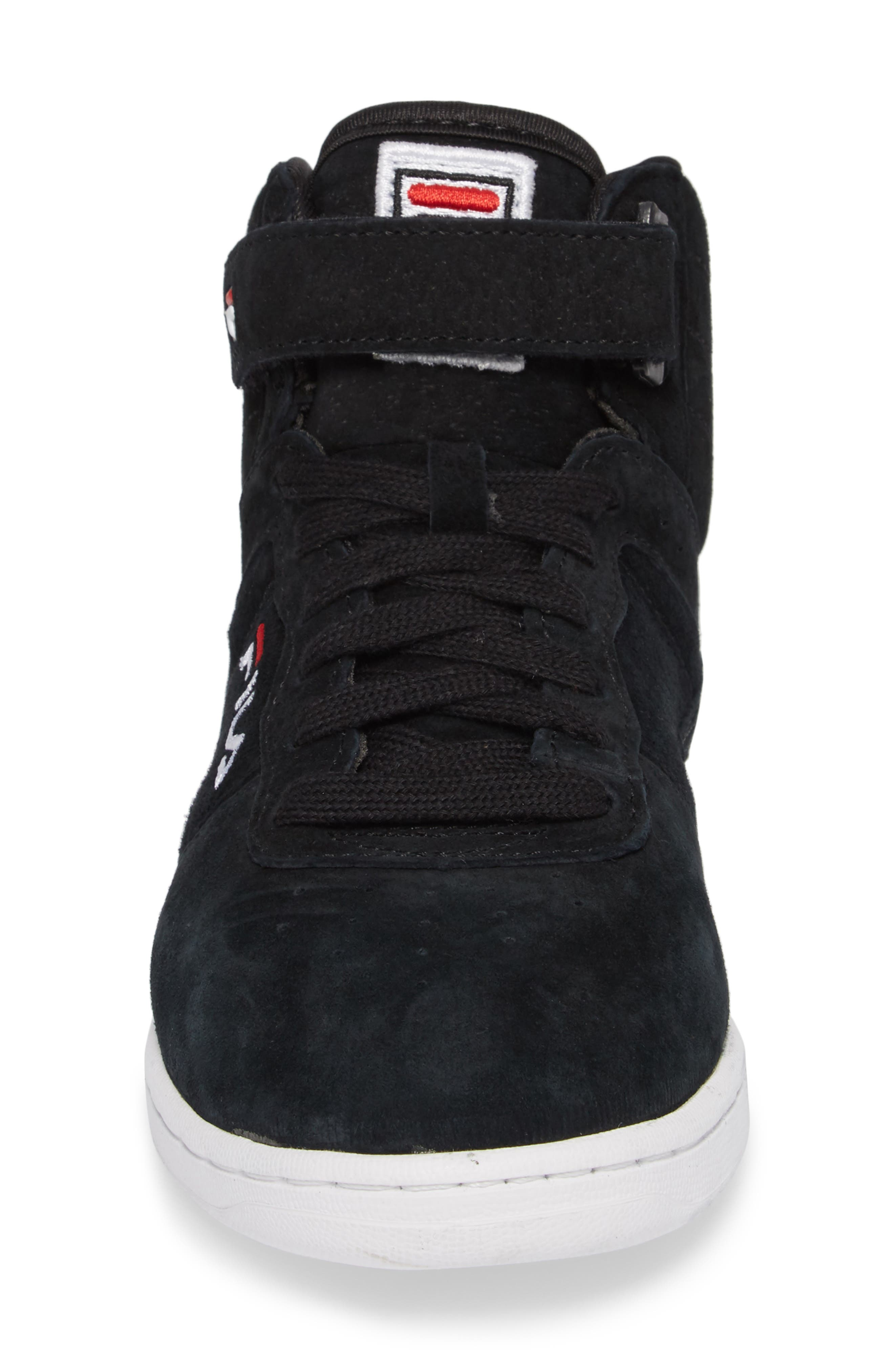 F-13 Premium Mid Top Sneaker,                             Alternate thumbnail 4, color,                             001