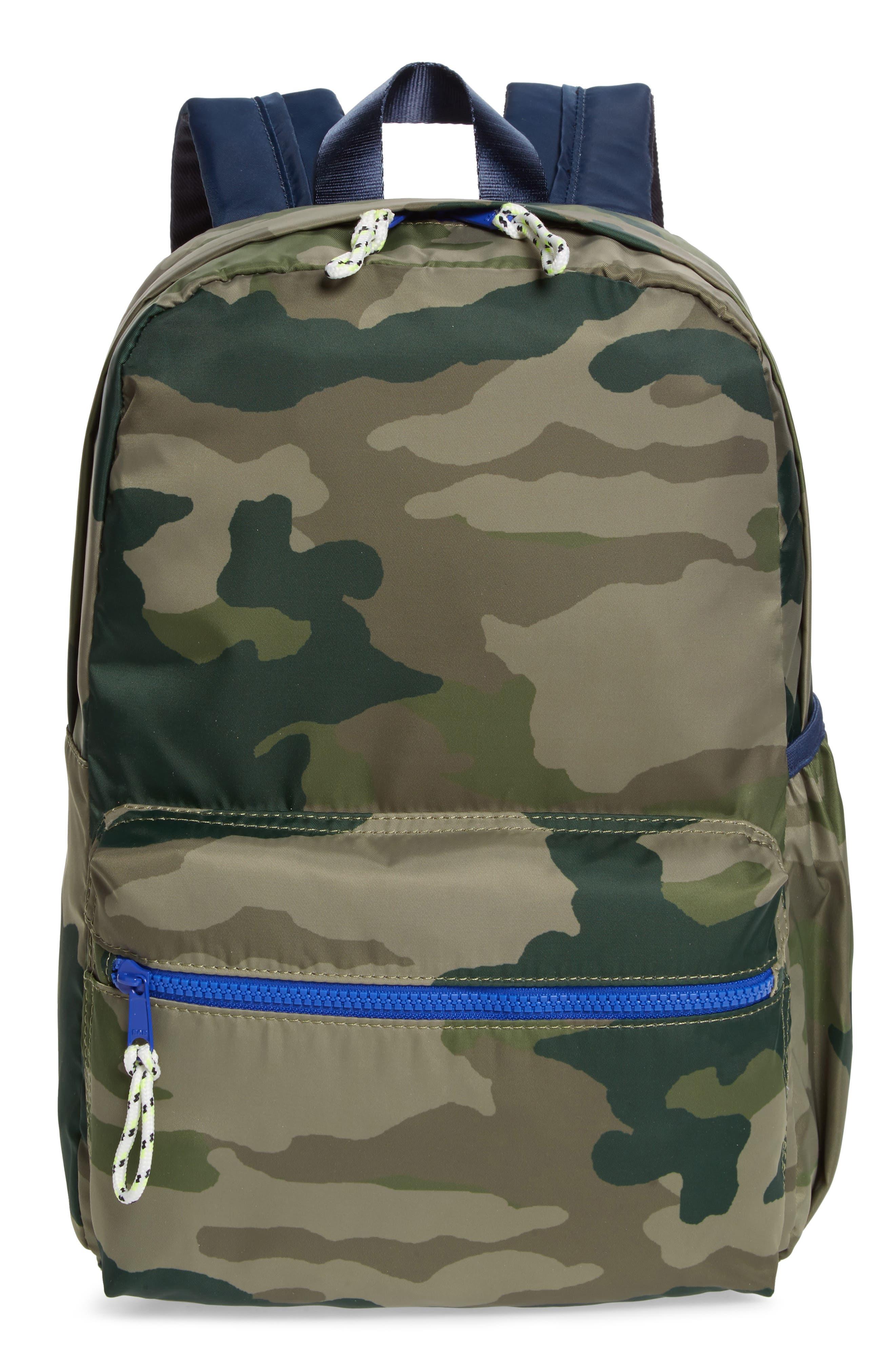 Camo Backpack,                             Main thumbnail 1, color,                             300