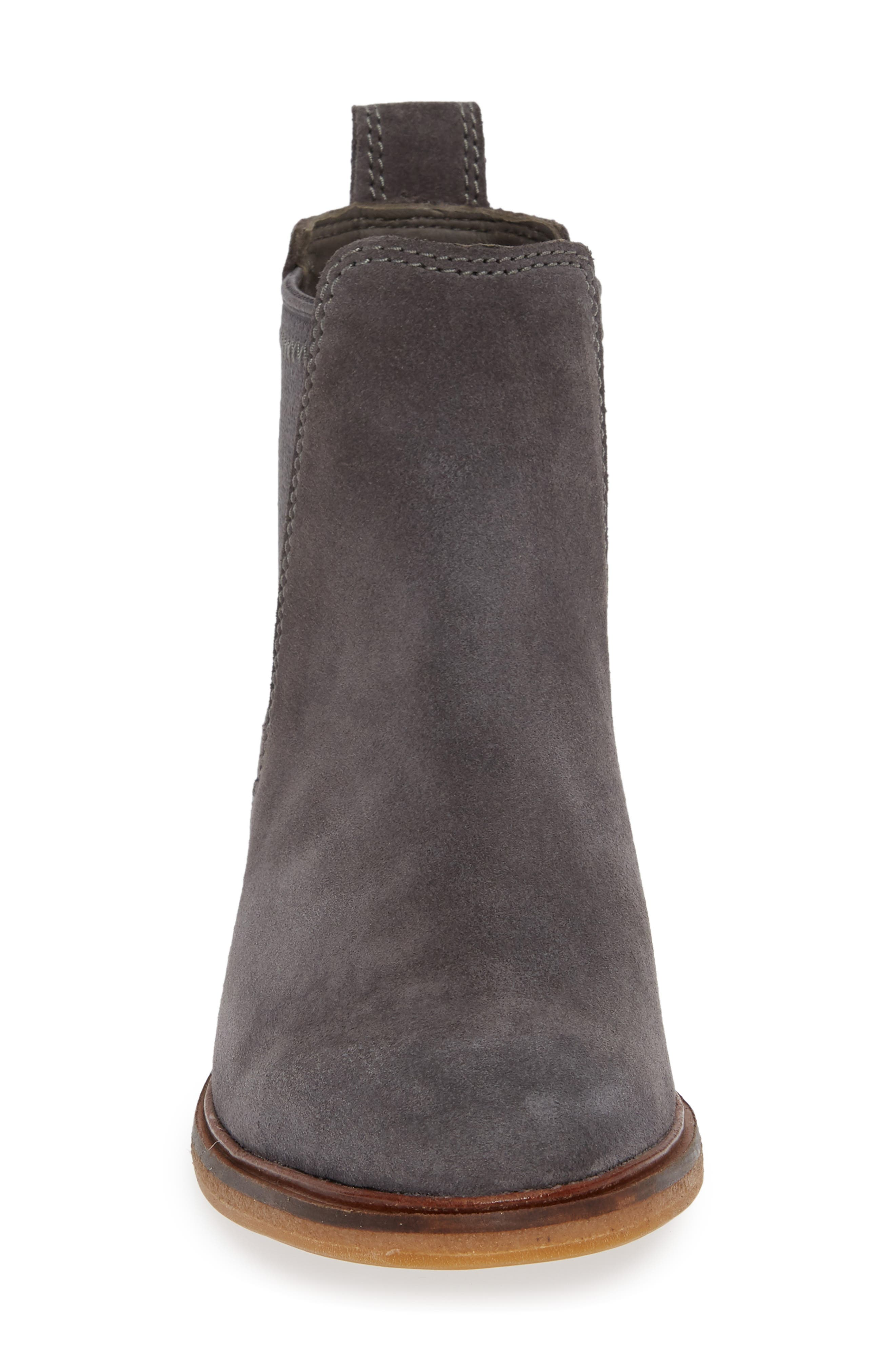 Clarkdale Arlo Boot,                             Alternate thumbnail 4, color,                             GREY SUEDE