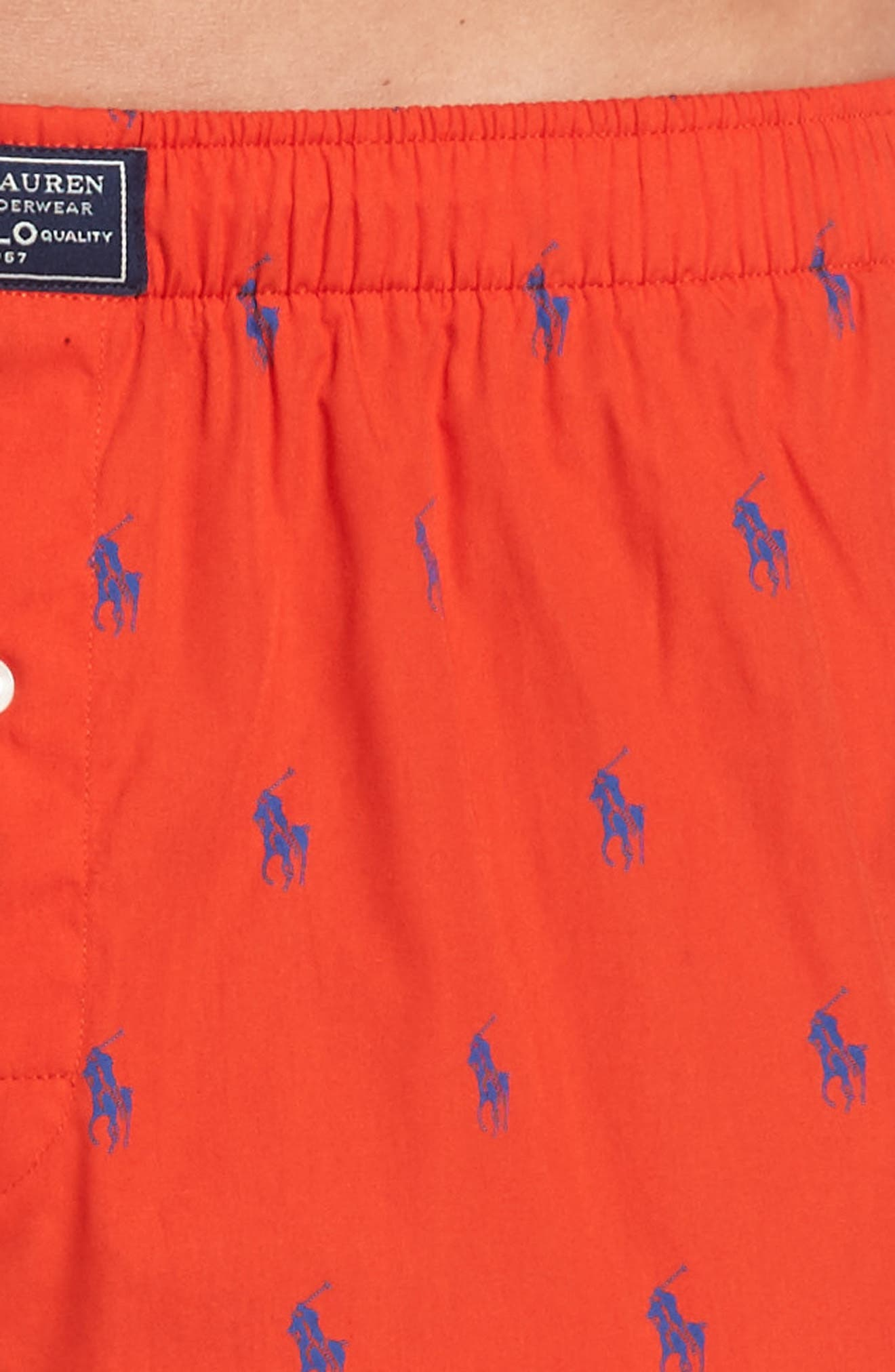 Pony Cotton Boxers,                             Alternate thumbnail 28, color,