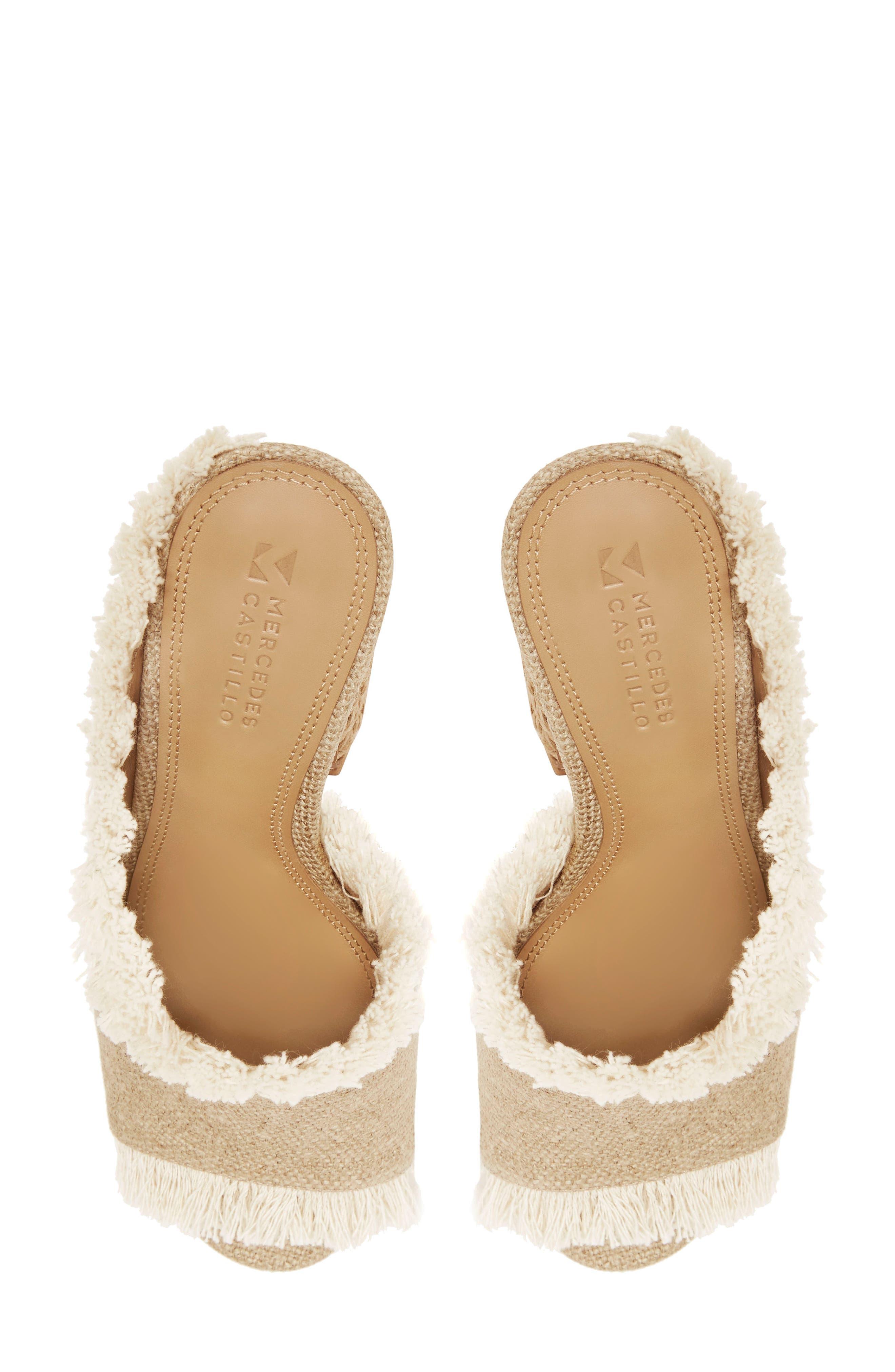 Izar Fringe Asymmetrical Sandal,                             Alternate thumbnail 7, color,                             250