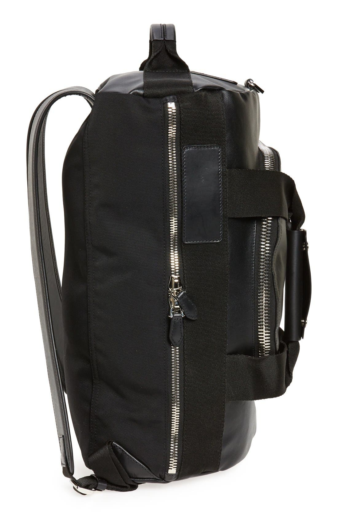 Coated Rubber Backpack,                             Alternate thumbnail 4, color,                             001