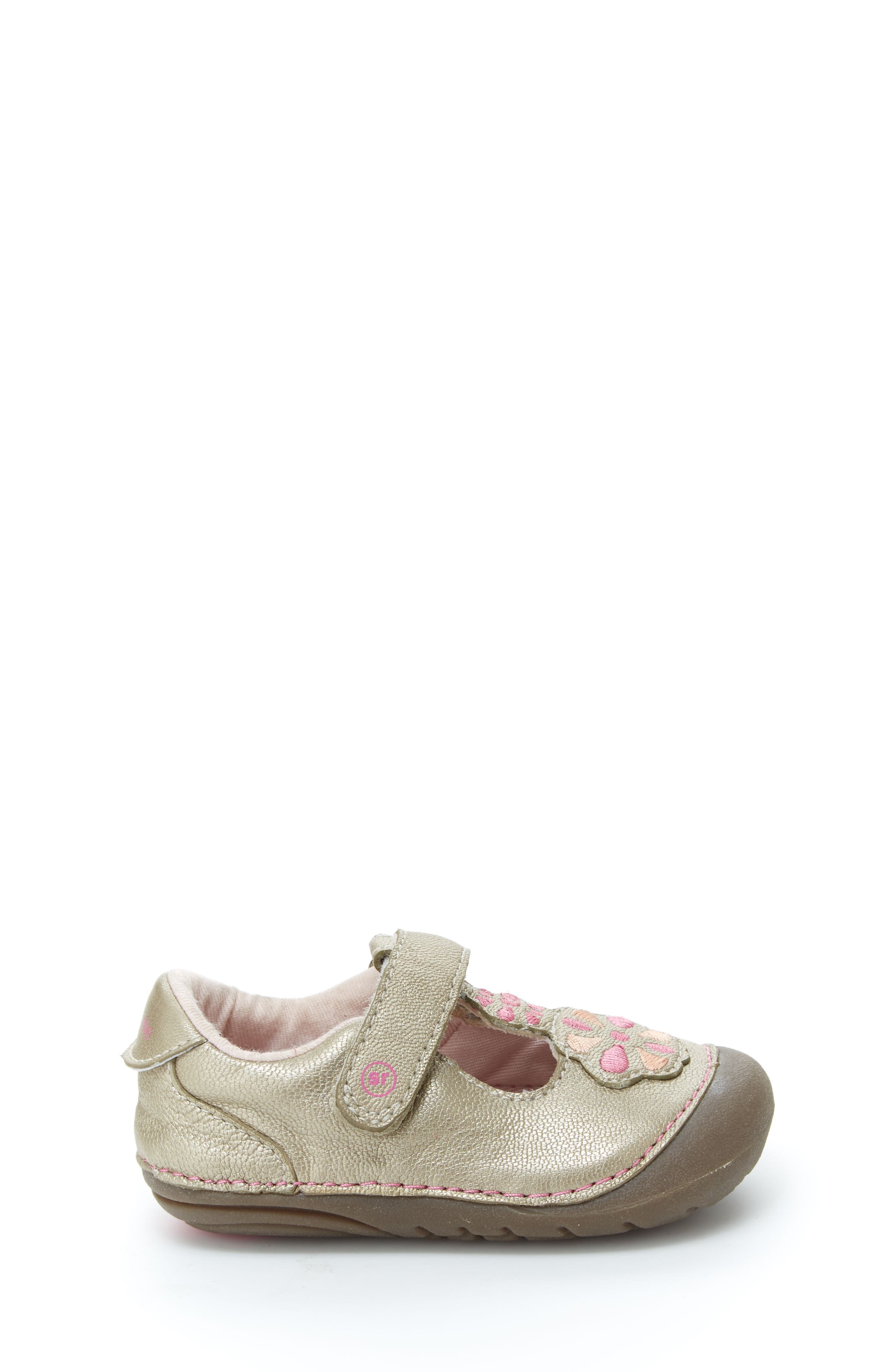Soft Motion<sup>™</sup> Kelly Sneaker,                             Alternate thumbnail 3, color,                             CHAMPAGNE