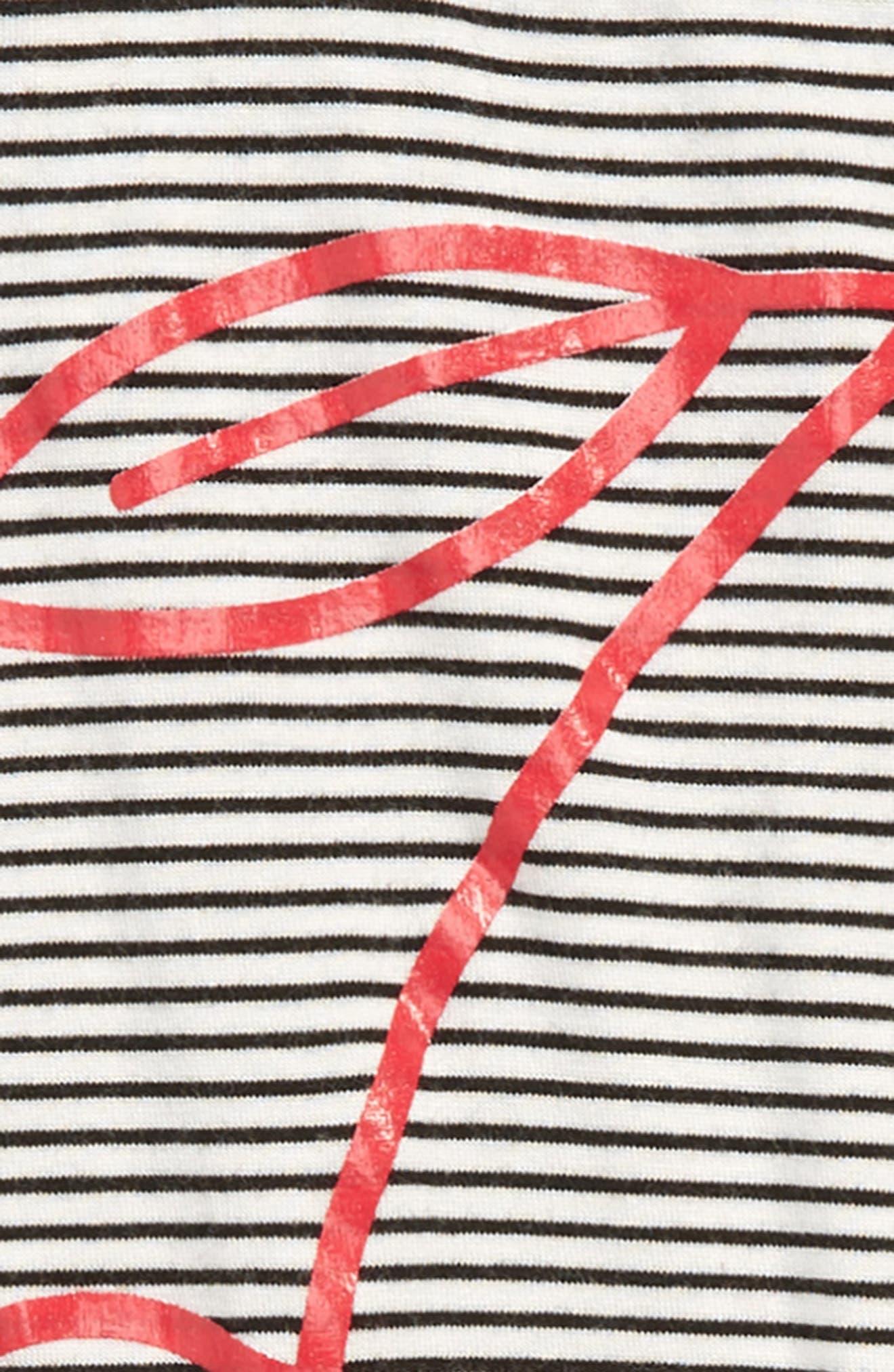 Twist Front Cherry Top,                             Alternate thumbnail 2, color,                             001