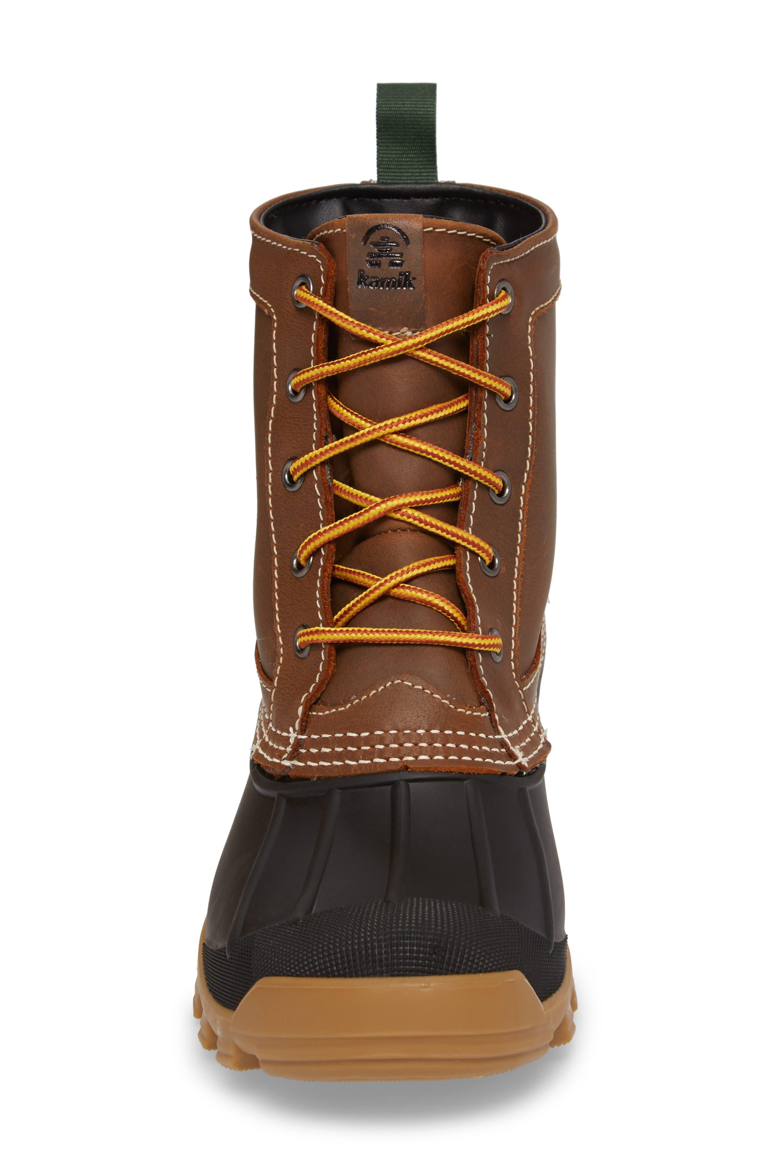 Yukon 5 Waterproof Insulated Three-Season Boot,                             Alternate thumbnail 4, color,                             201